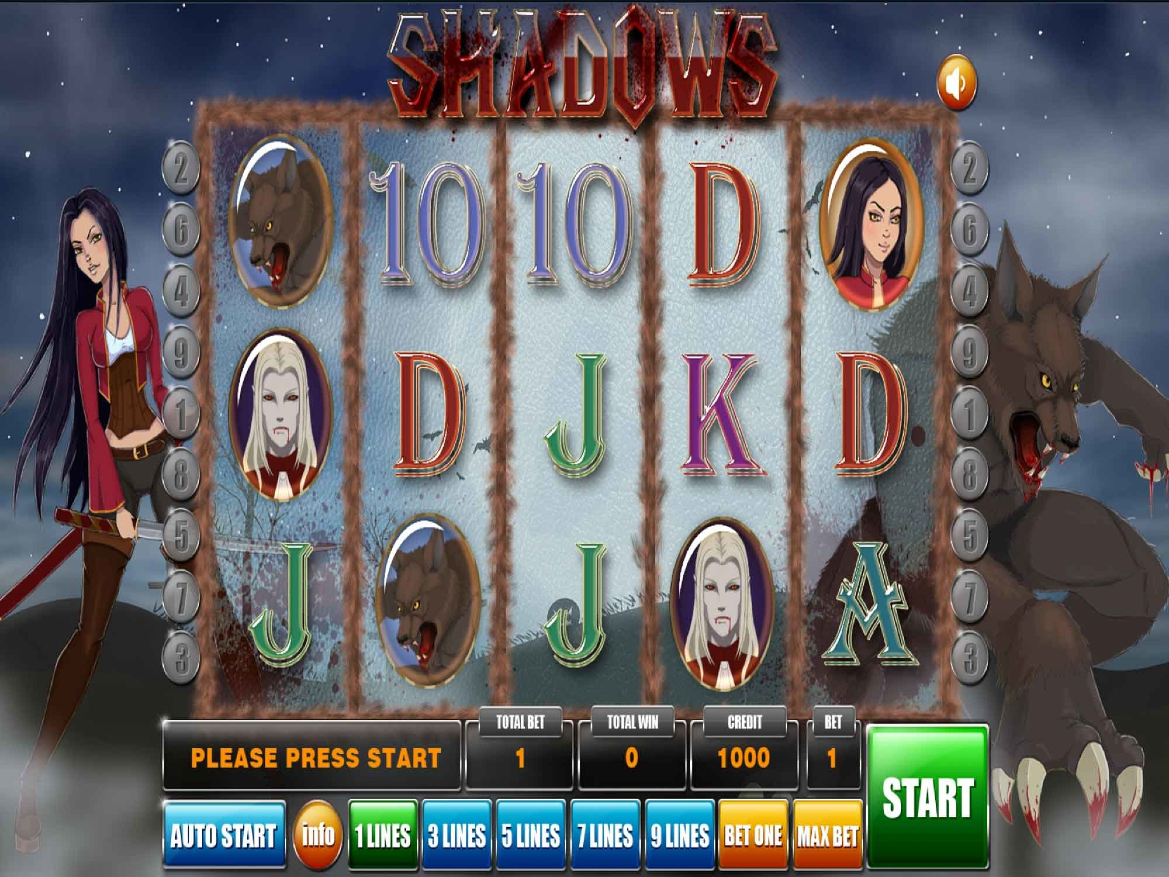 The Shadows Online Slot Demo Game by GameX