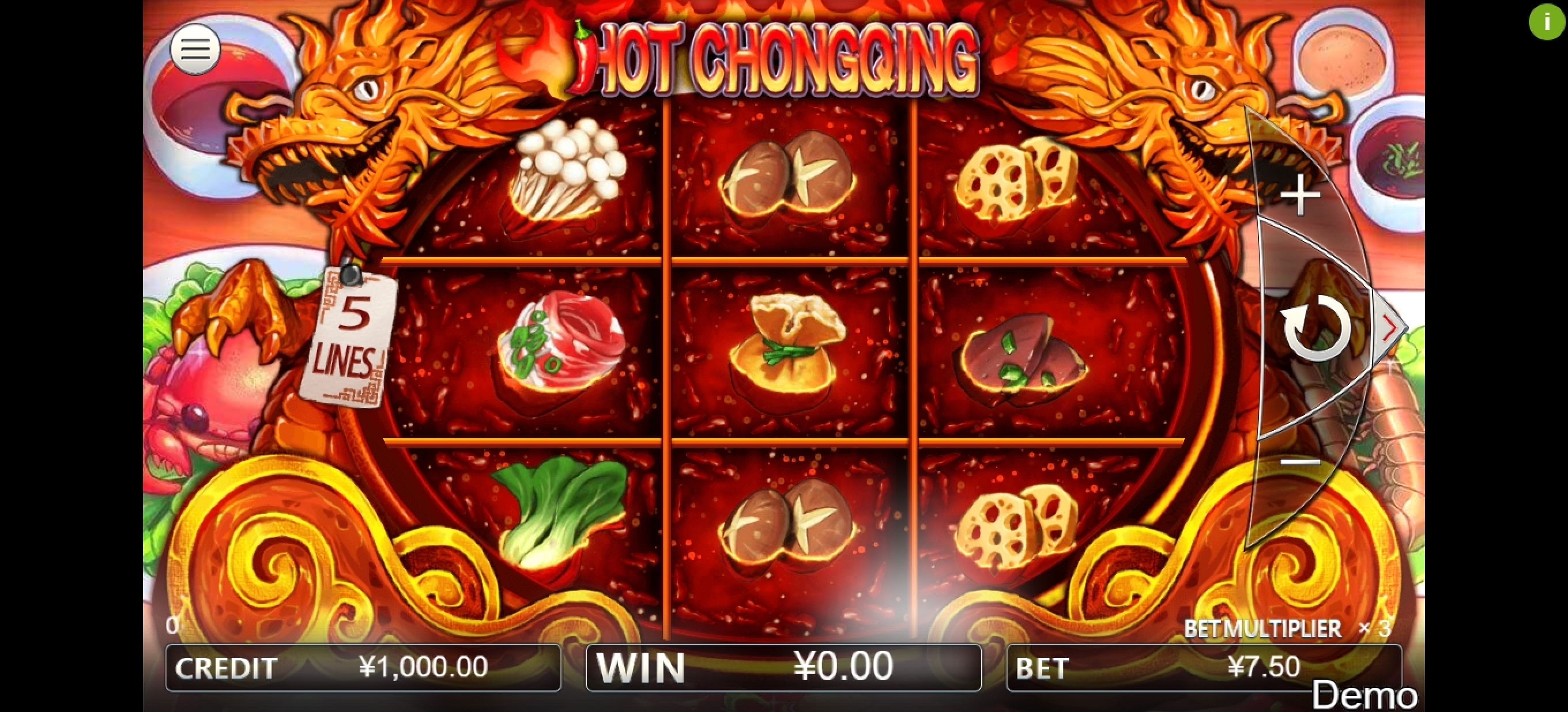 Reels in Hot Chongqing Slot Game by Iconic Gaming
