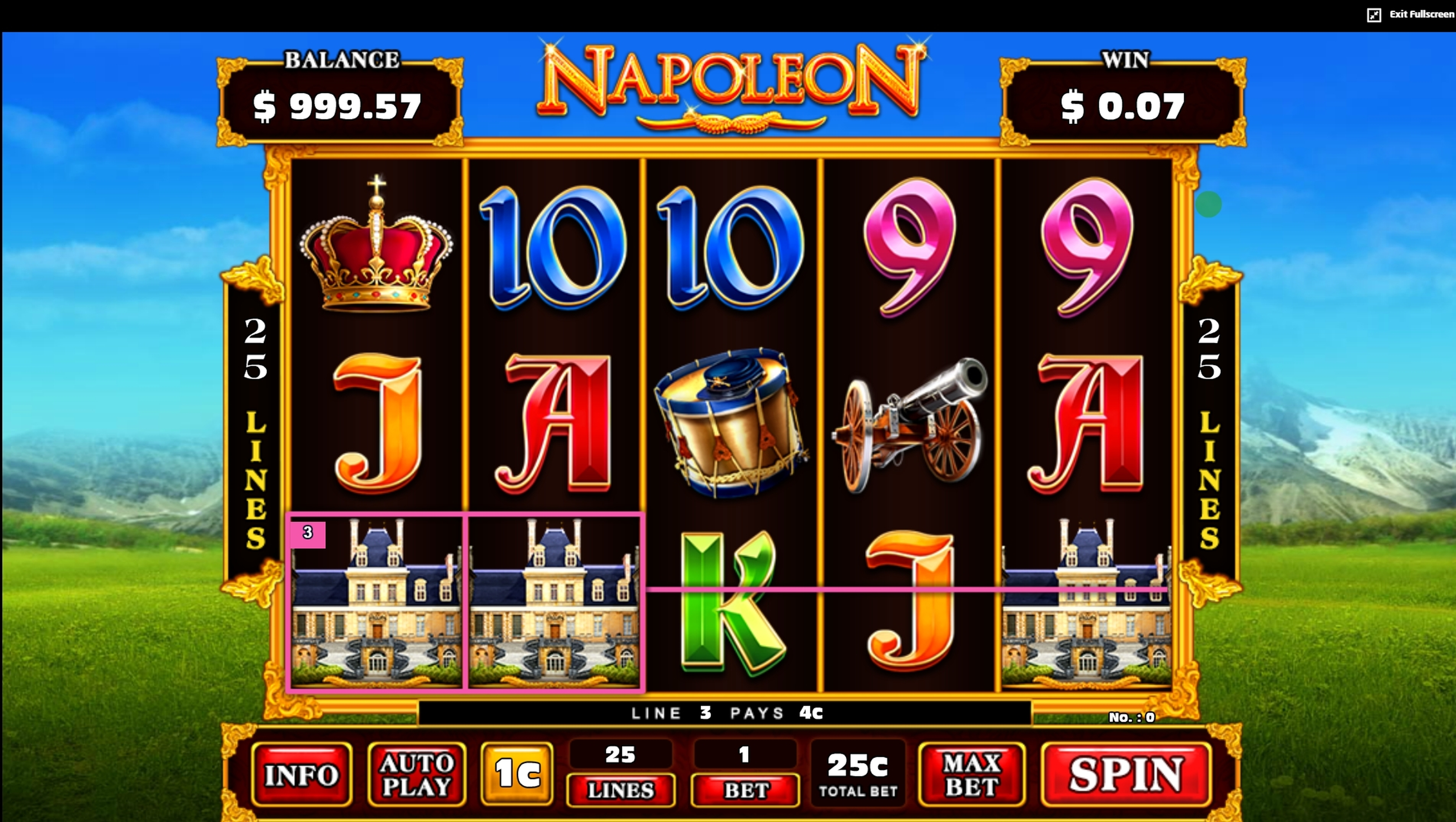 Win Money in Napoleon (JDB168) Free Slot Game by JDB168