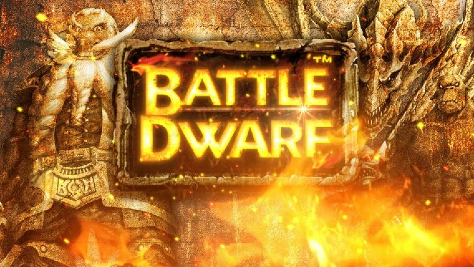 The Battle Dwarf Online Slot Demo Game by JTG