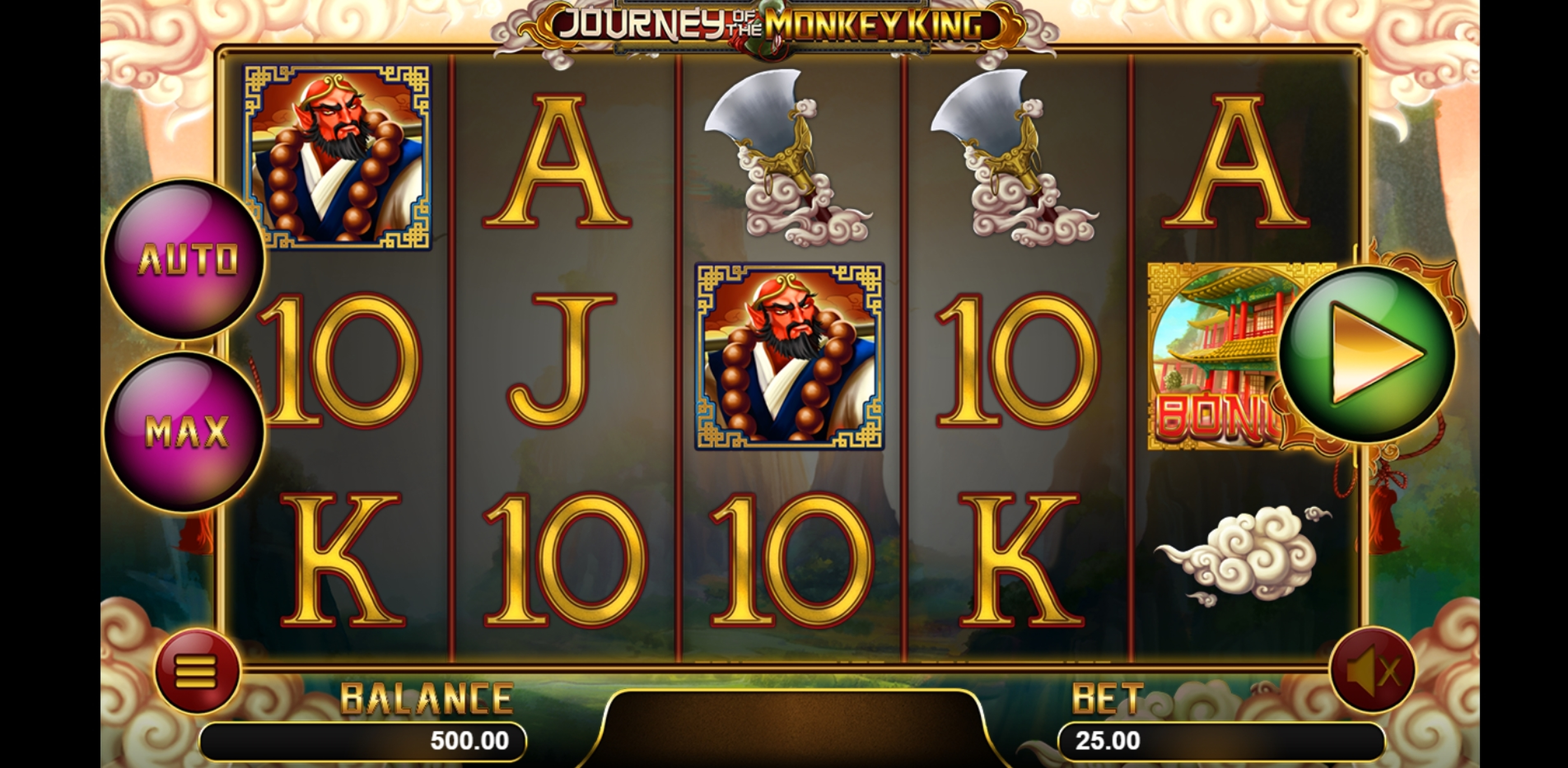 Reels in Journey Of The Monkey King Slot Game by Magma