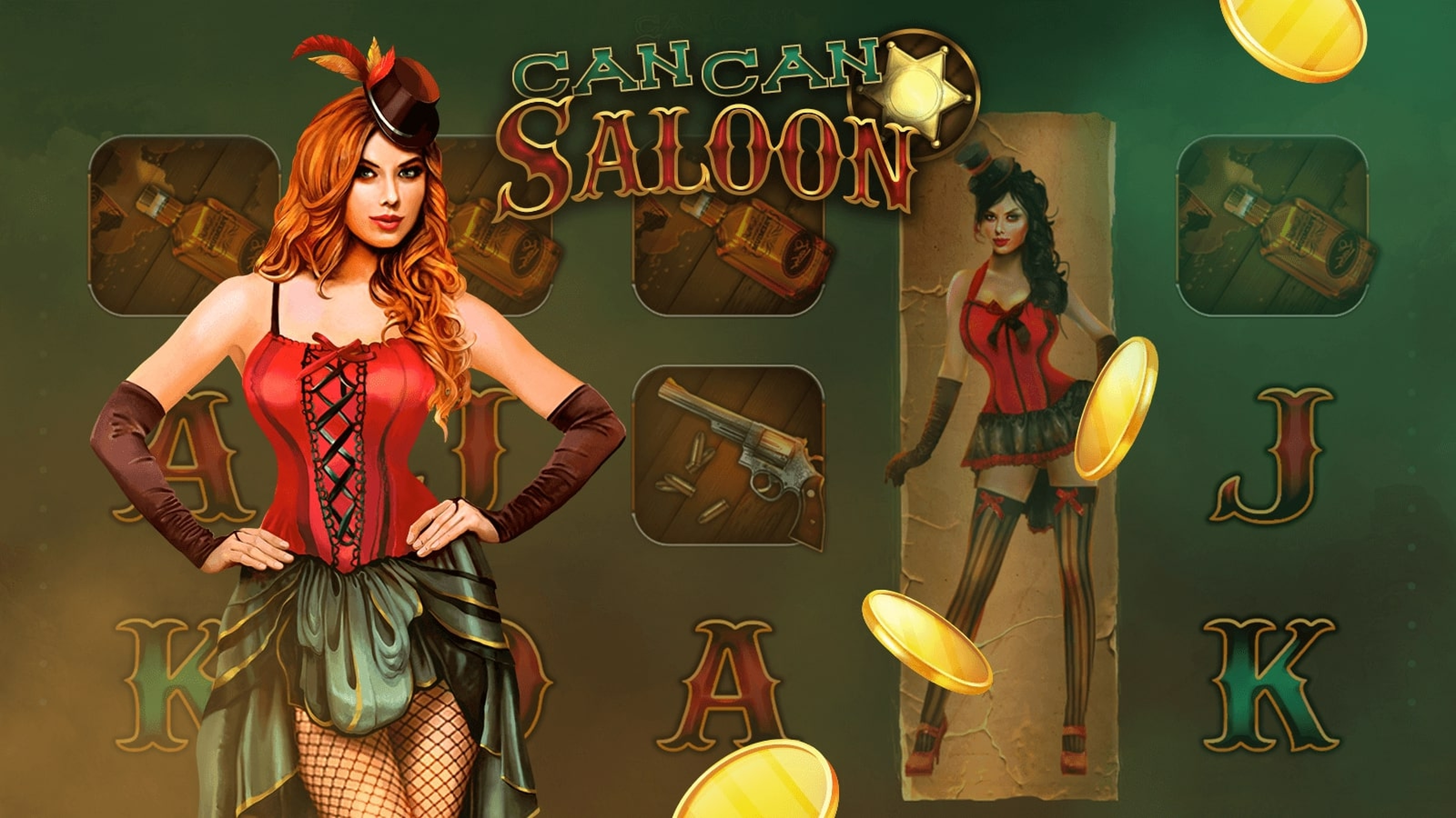 The CanCan Saloon Online Slot Demo Game by Mascot Gaming