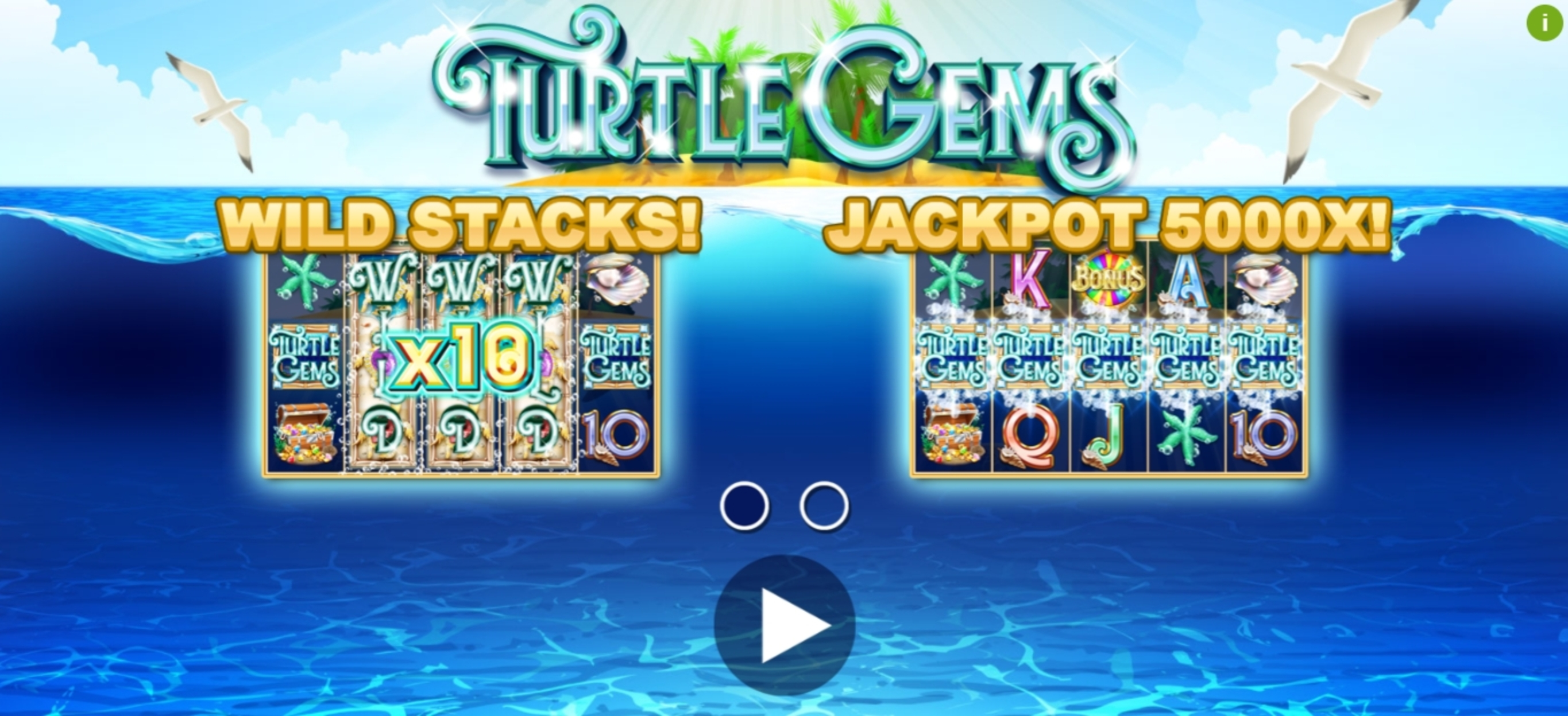 Play Turtle Gems Free Casino Slot Game by Playlogics