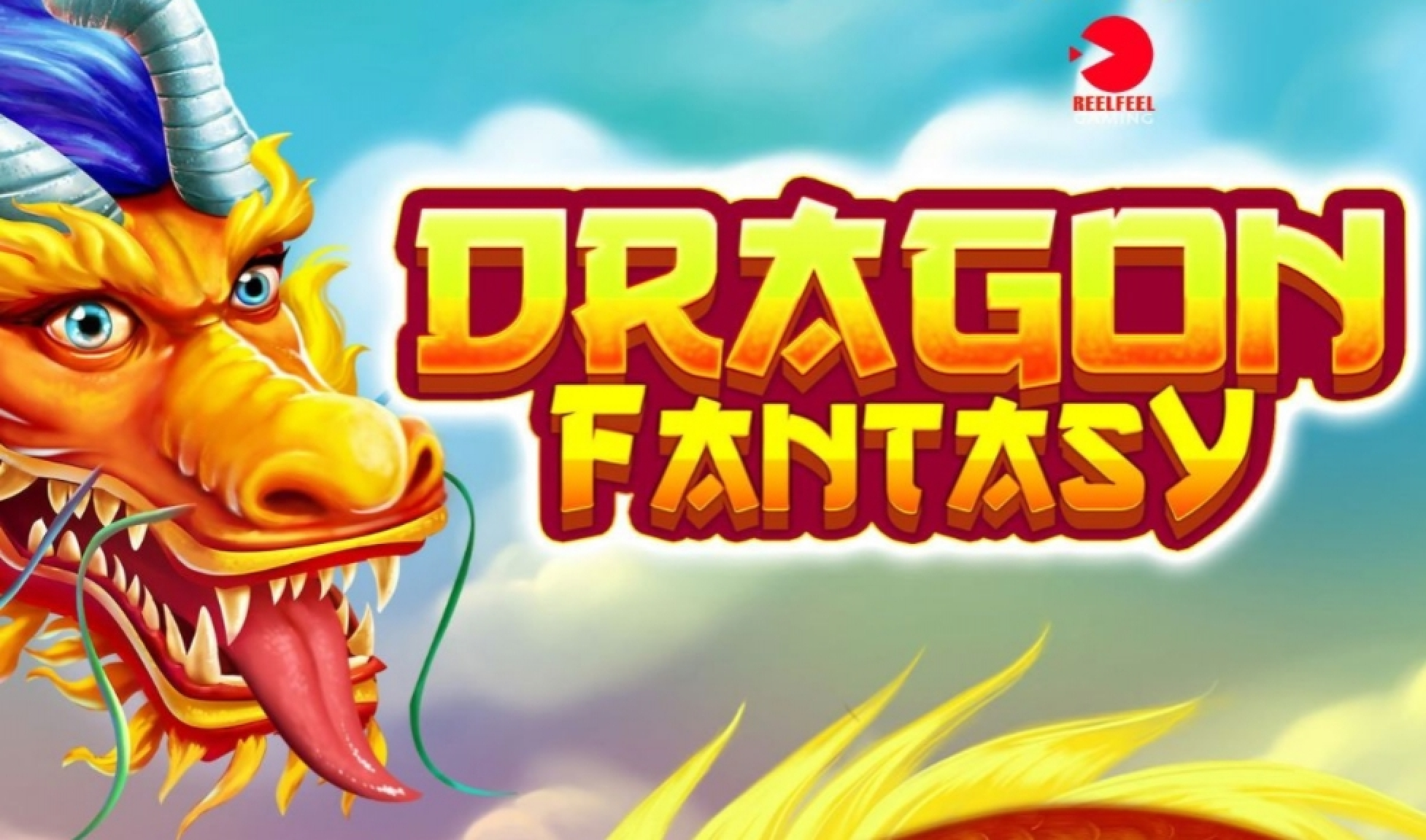 Reels in Dragon Fantasy Slot Game by ReelFeel Gaming