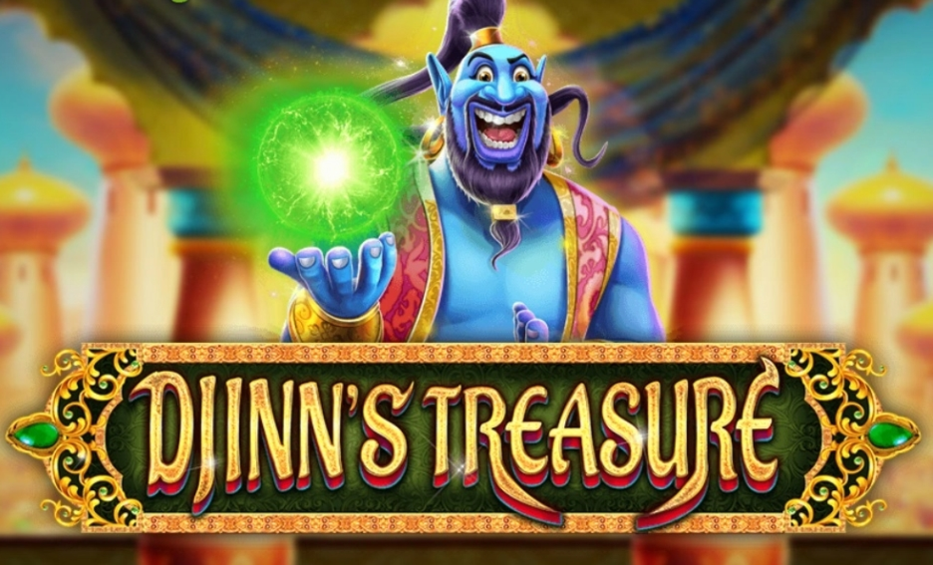 The Djinns Treasure Online Slot Demo Game by Rocksalt Interactive