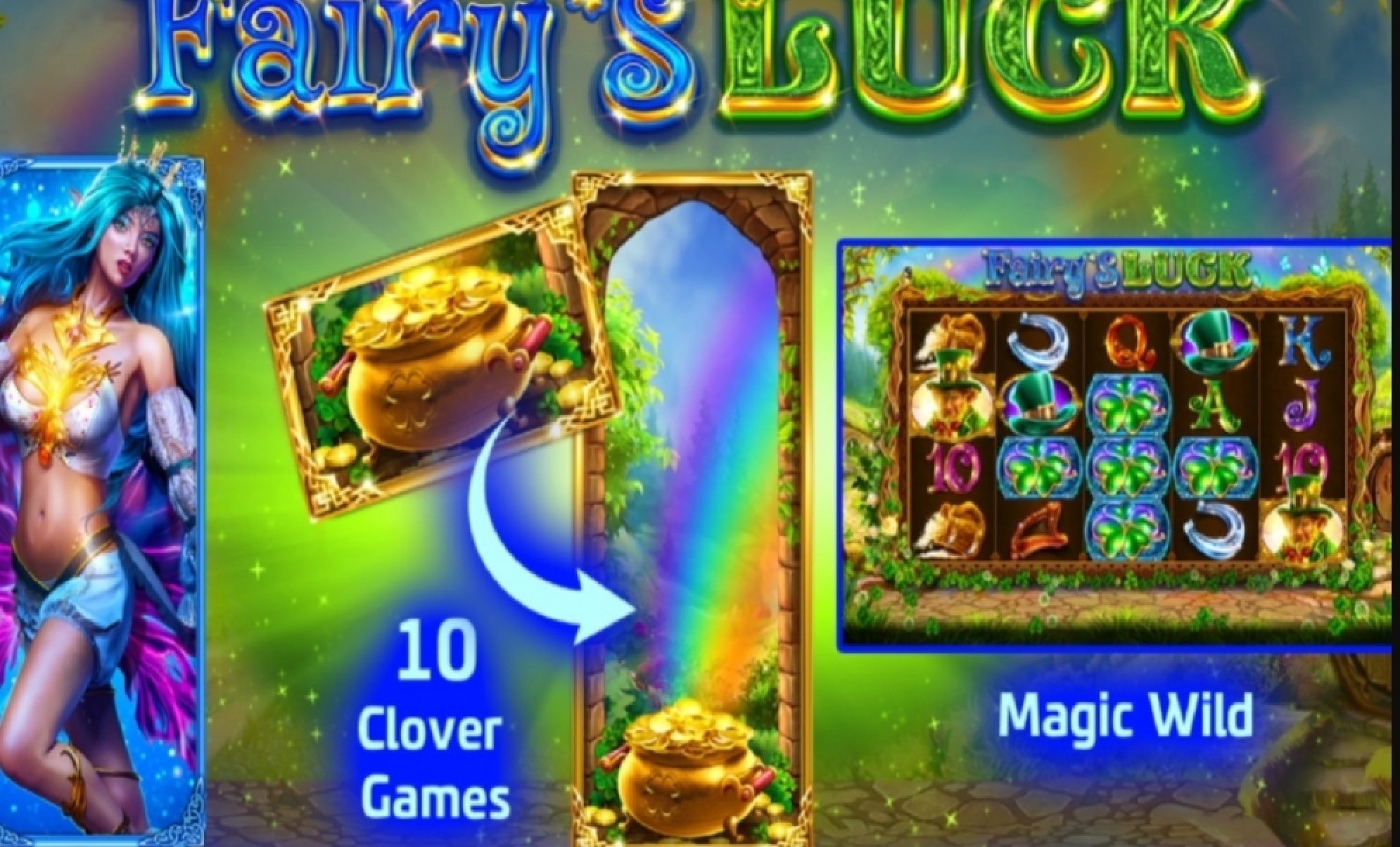 The Fairy's Luck Online Slot Demo Game by SlotVision