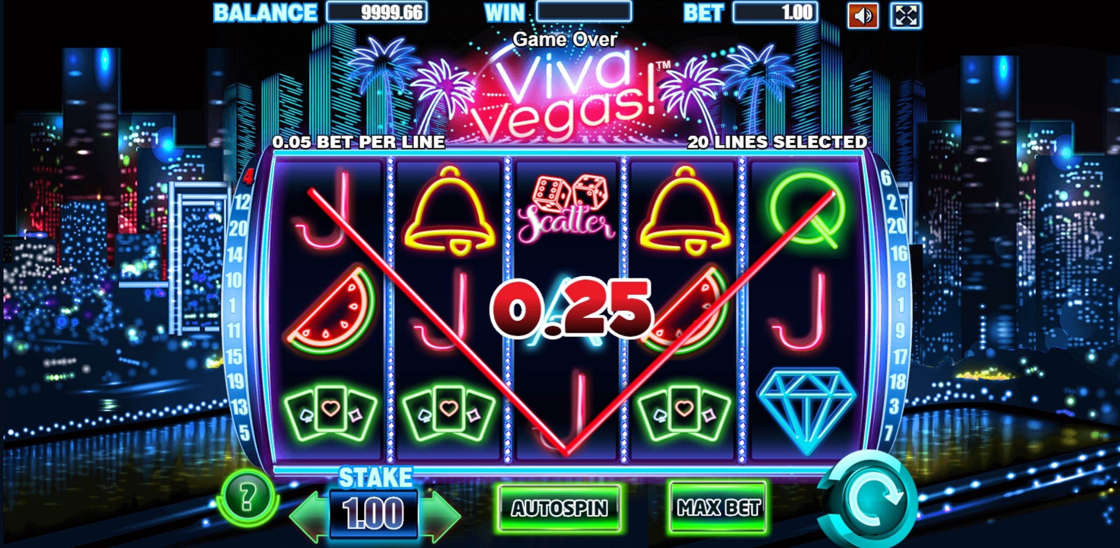 Win Money in Viva Vegas Free Slot Game by Allbet Gaming
