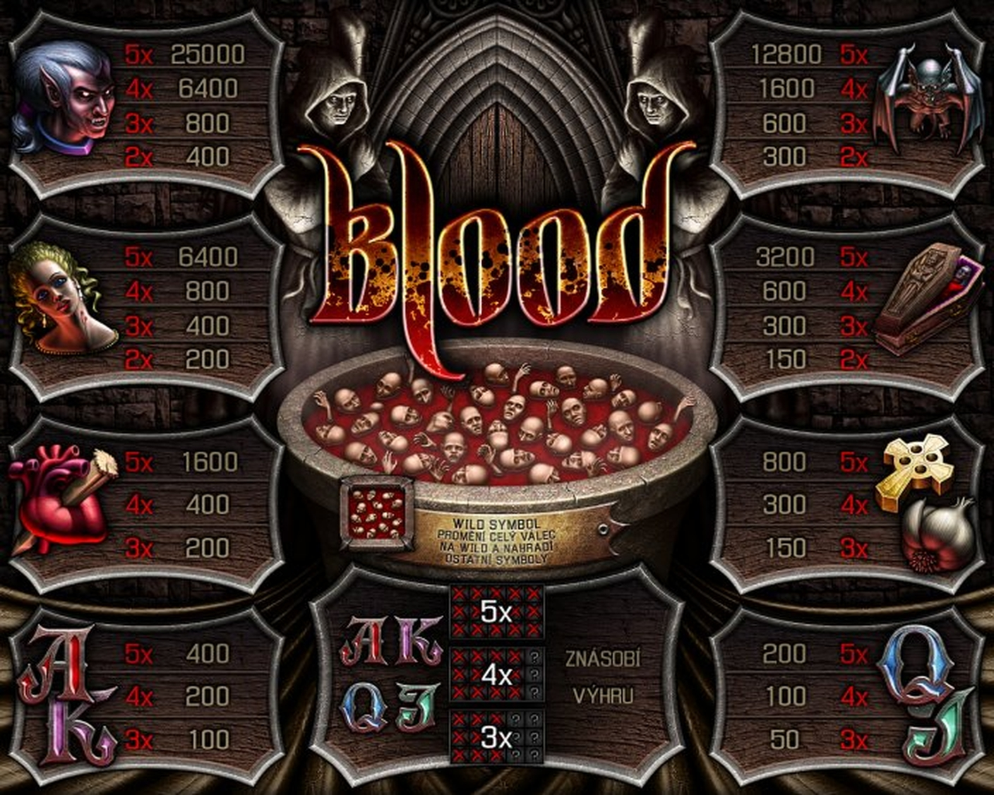 The Blood Online Slot Demo Game by Apollo Games