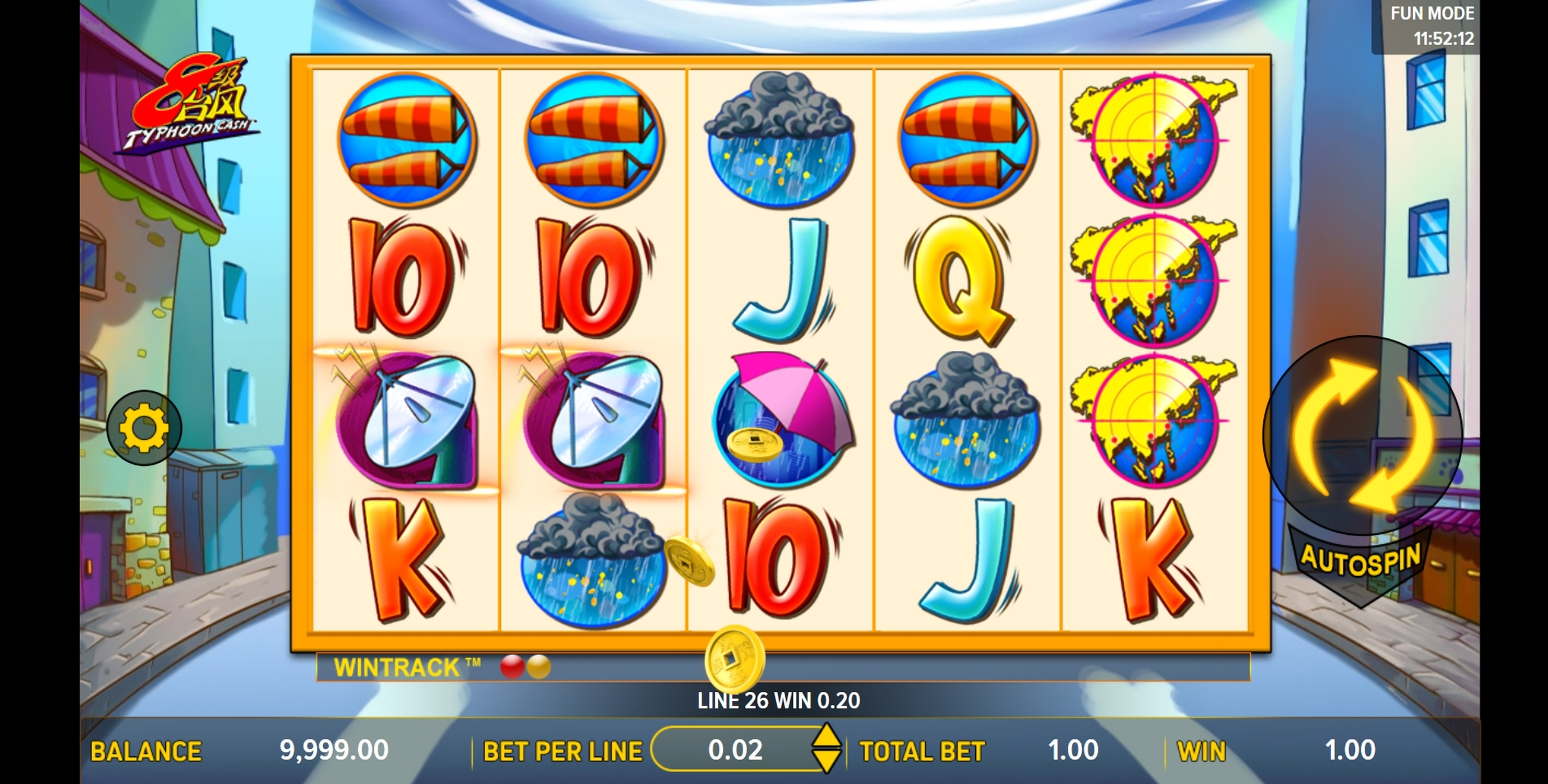 Win Money in Typhoon Cash Free Slot Game by Aspect Gaming