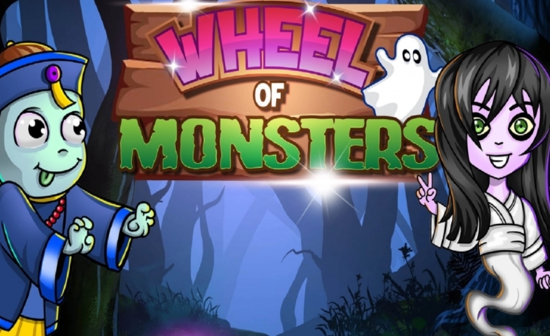 Reels in Wheel of Monsters Slot Game by Asylum Labs
