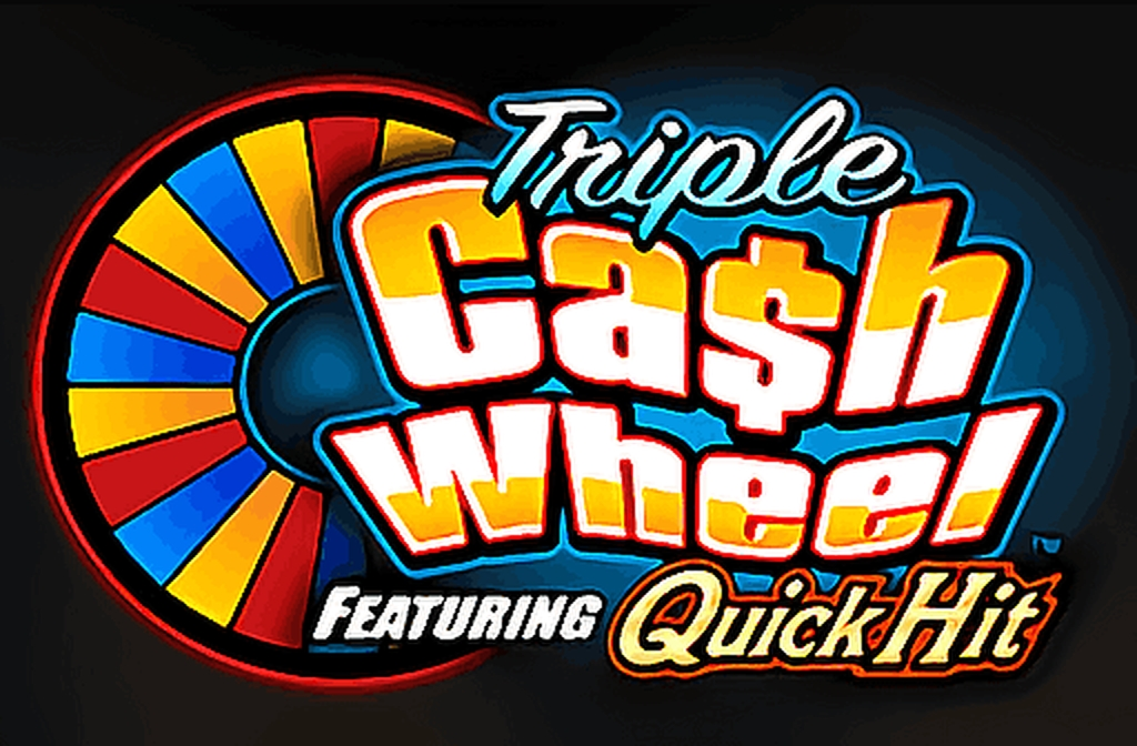 Reels in Triple Cash Wheel Slot Game by Bally Technologies