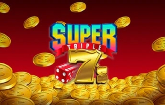 The Super Triple 7's Online Slot Demo Game by Betsson Group