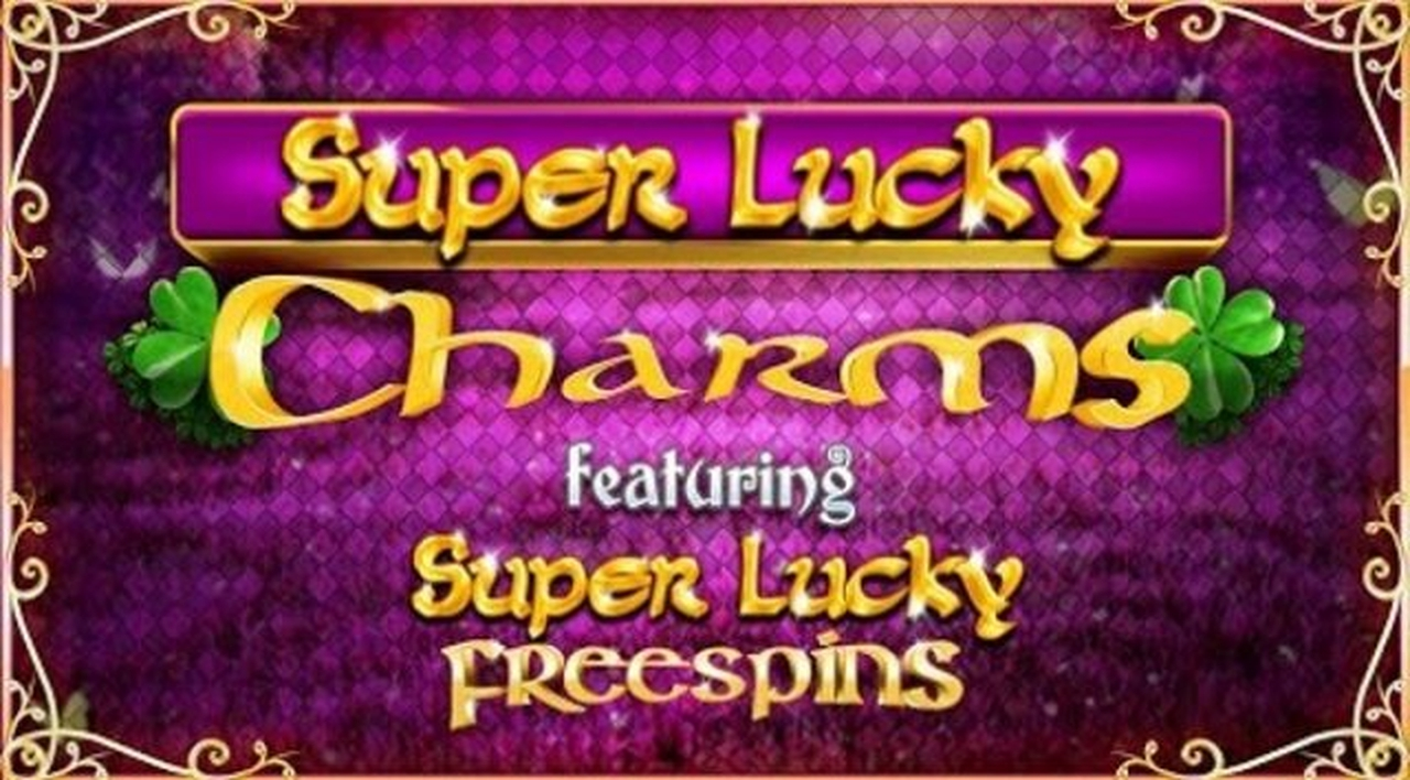 The Super Lucky Charms Online Slot Demo Game by Blueprint Gaming