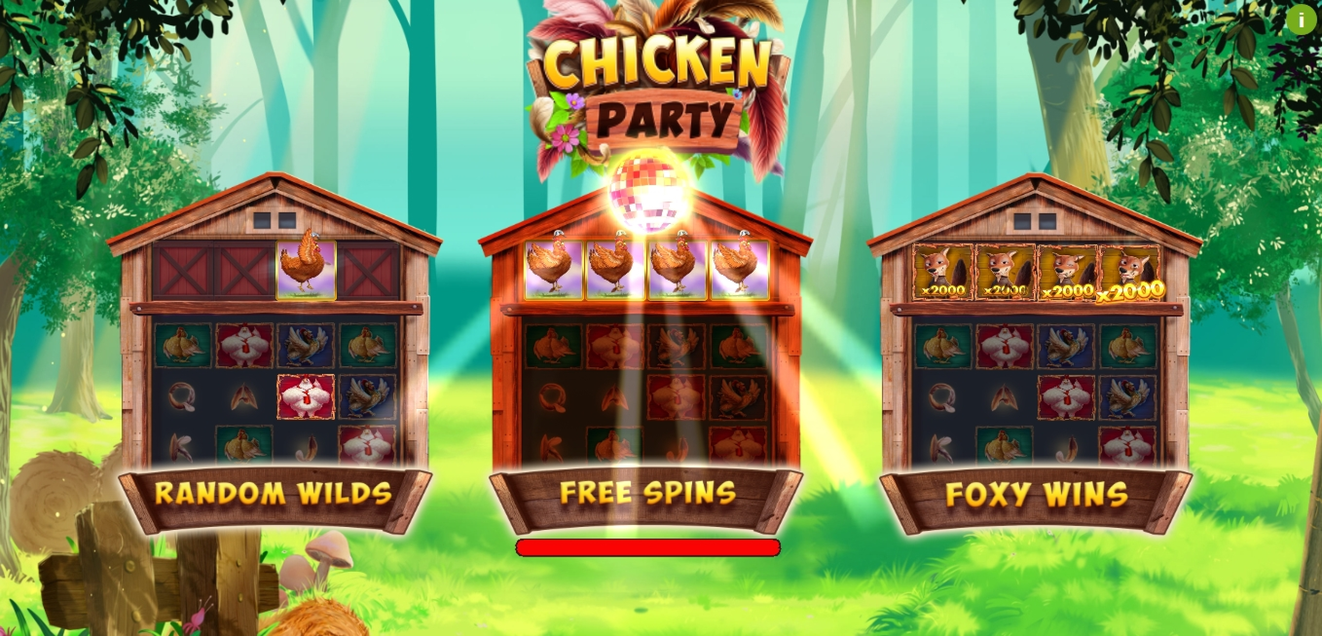 Play Chicken Party Free Casino Slot Game by Booming Games