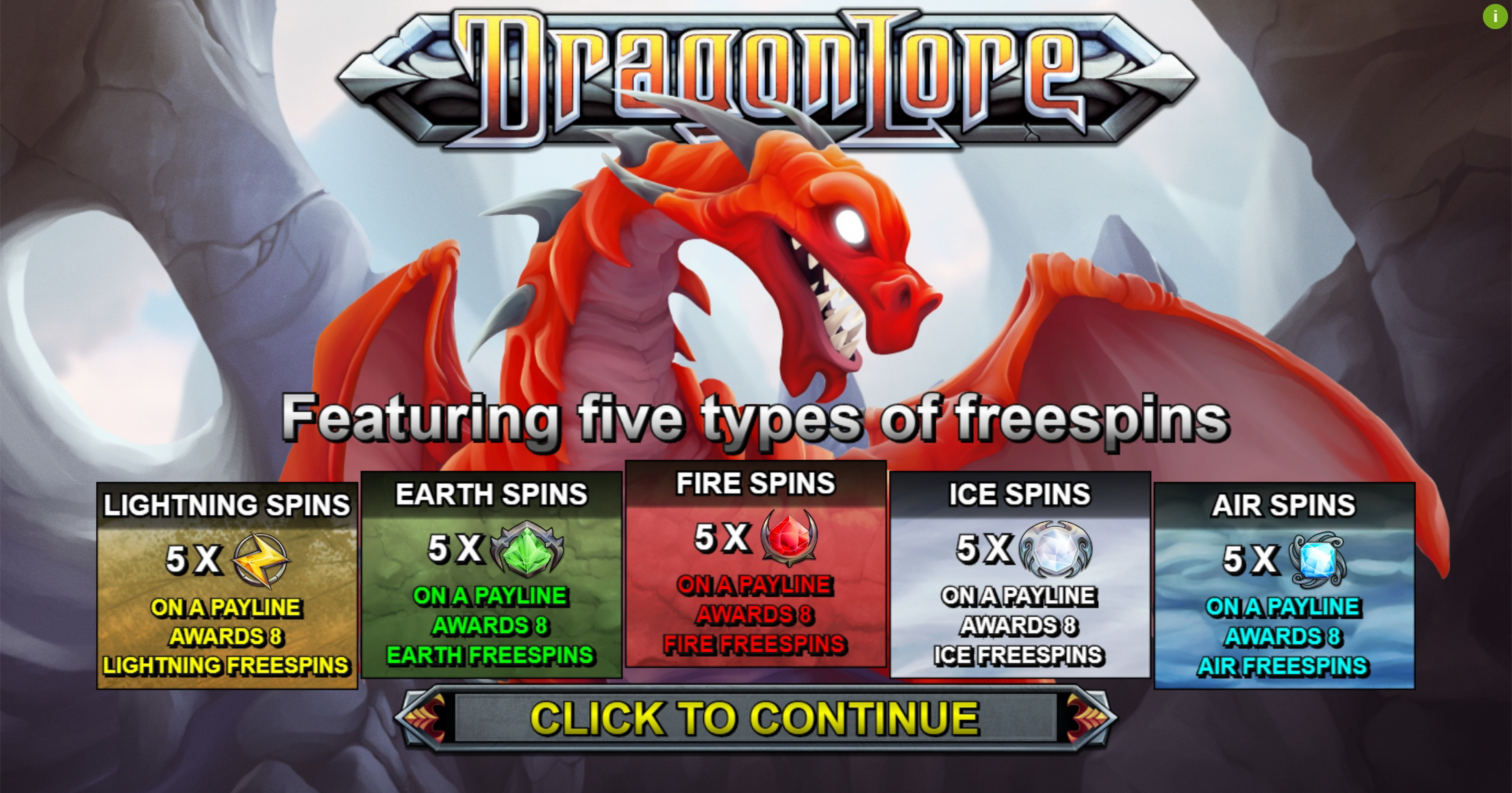 Play Dragon Lore Free Casino Slot Game by Bulletproof Games