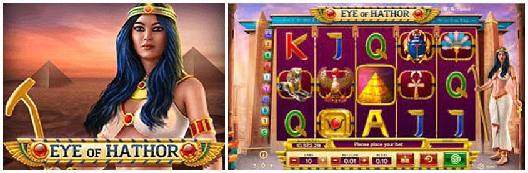 Win Money in Eye of Hathor Free Slot Game by BwinParty
