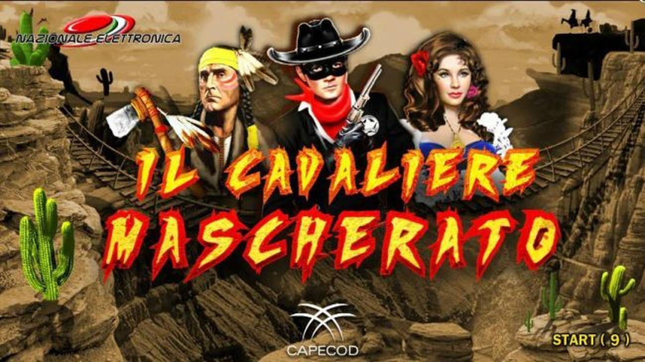 The Masked Rider Online Slot Demo Game by Capecod Gaming