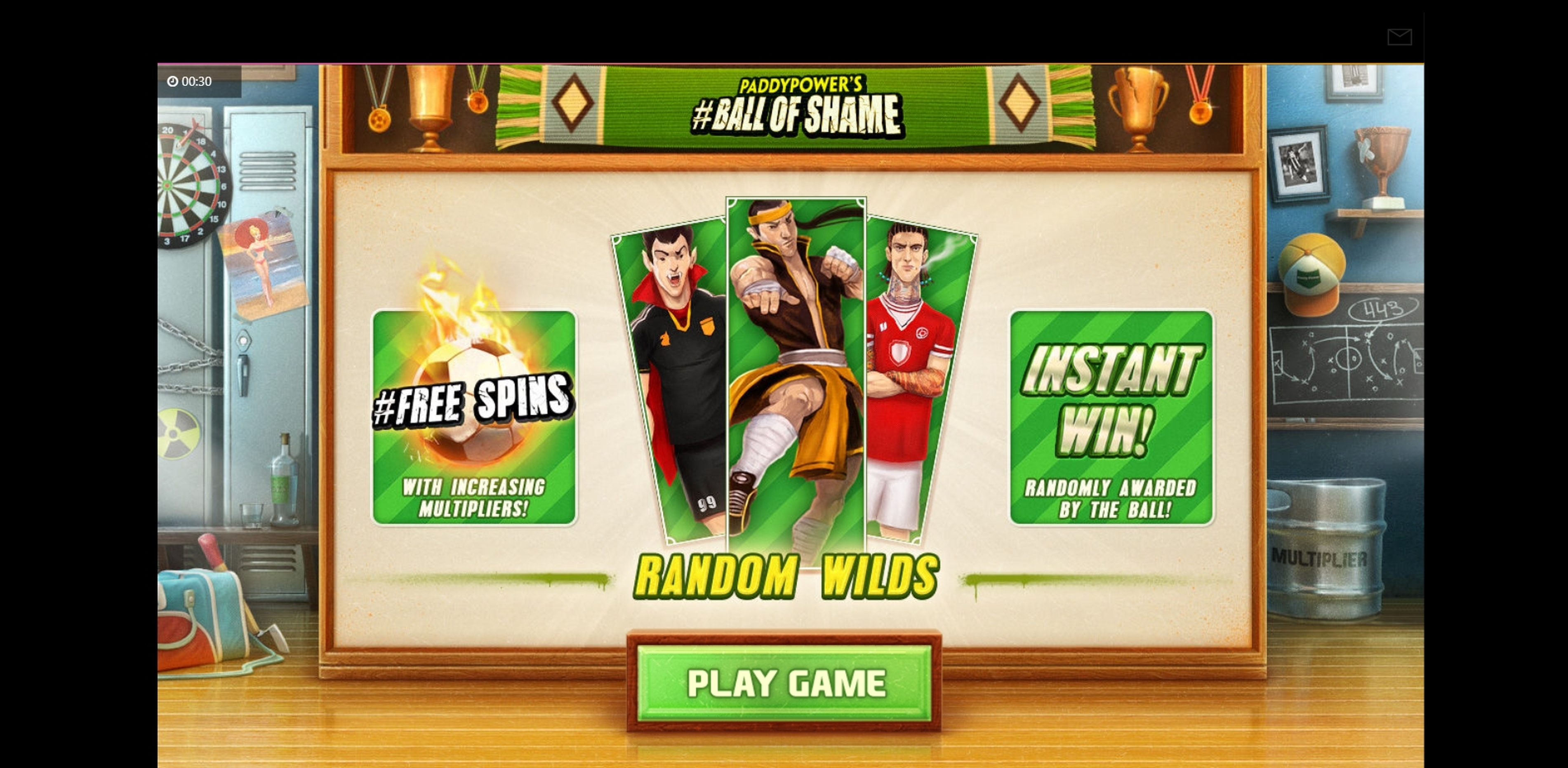 Play Ball Of Shame Free Casino Slot Game by Cayetano Gaming