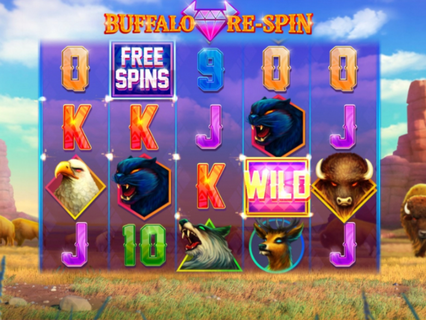 The Buffalo Respin Online Slot Demo Game by Cayetano Gaming
