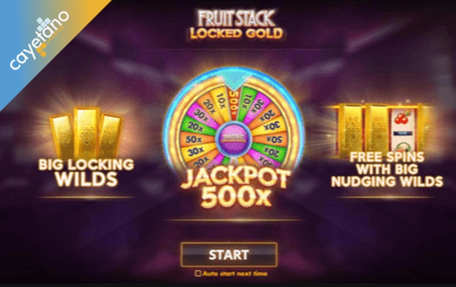 The Fruit Stack Locked Gold Online Slot Demo Game by Cayetano Gaming