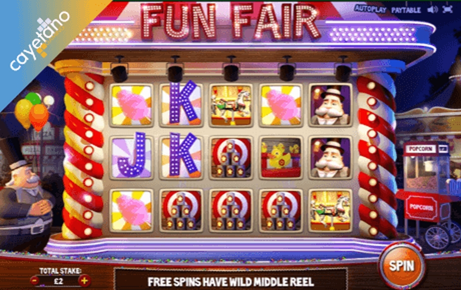The Fun Fair Online Slot Demo Game by Cayetano Gaming