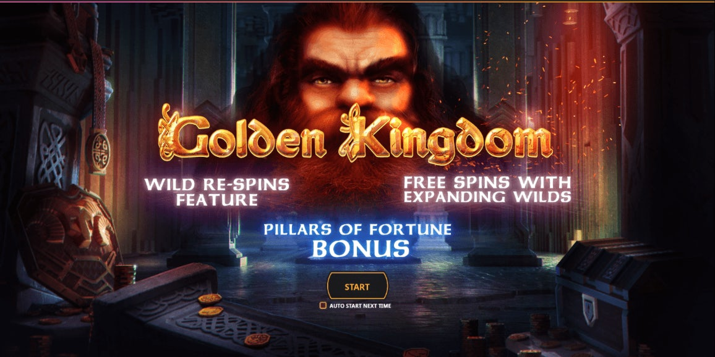 The Golden Kingdom Online Slot Demo Game by Cayetano Gaming