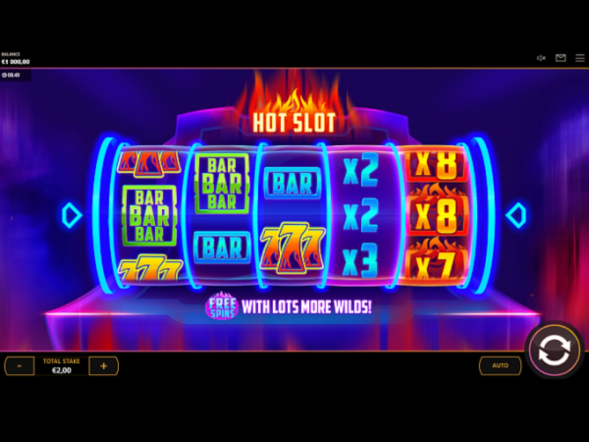 The Hot Slot (Cayetano Gaming) Online Slot Demo Game by Cayetano Gaming