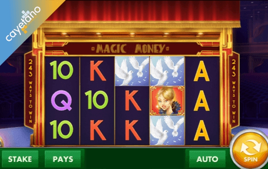 The Magic Money Online Slot Demo Game by Cayetano Gaming