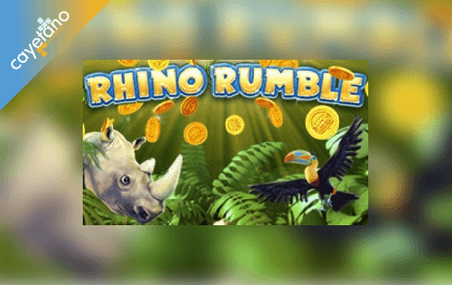 The Rhino Rumble Online Slot Demo Game by Cayetano Gaming