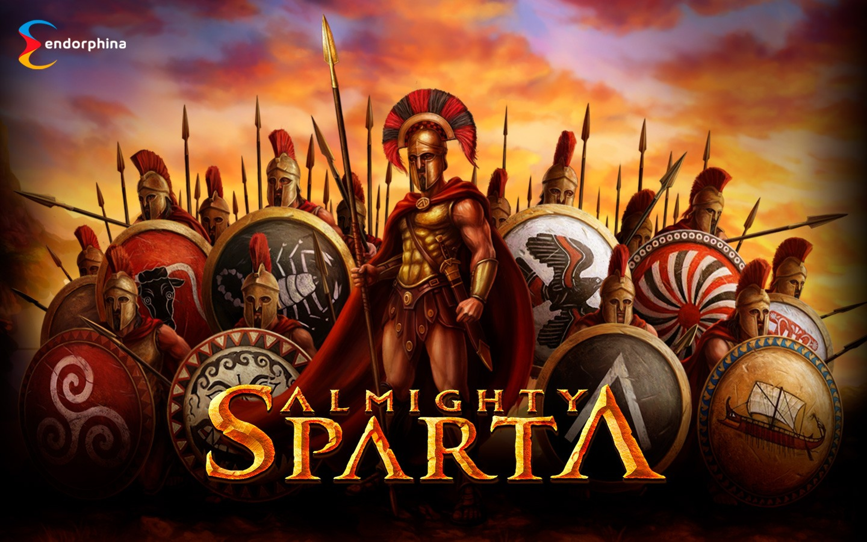 The Almighty Sparta Online Slot Demo Game by Endorphina