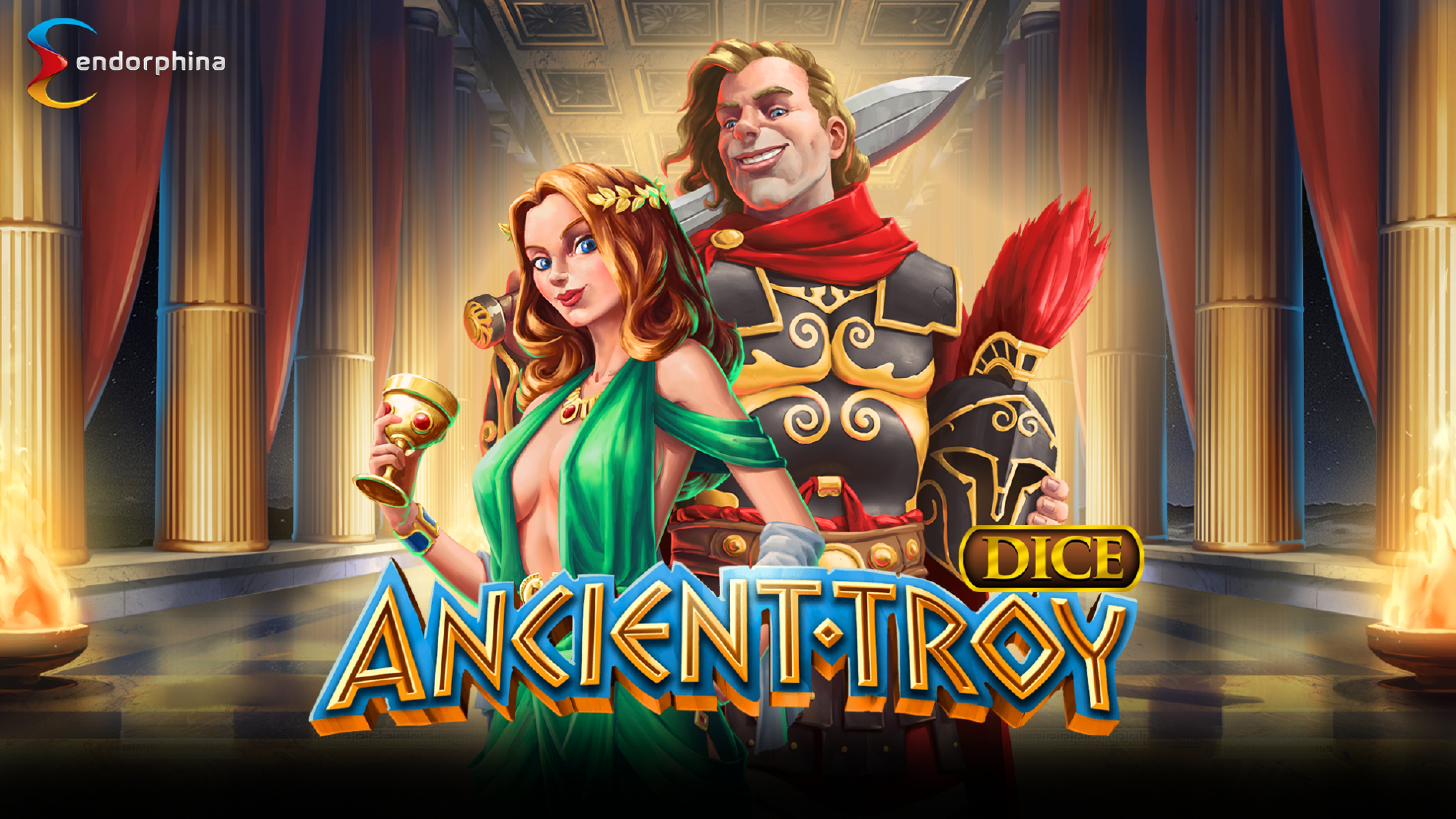 The Ancient Troy Dice Online Slot Demo Game by Endorphina