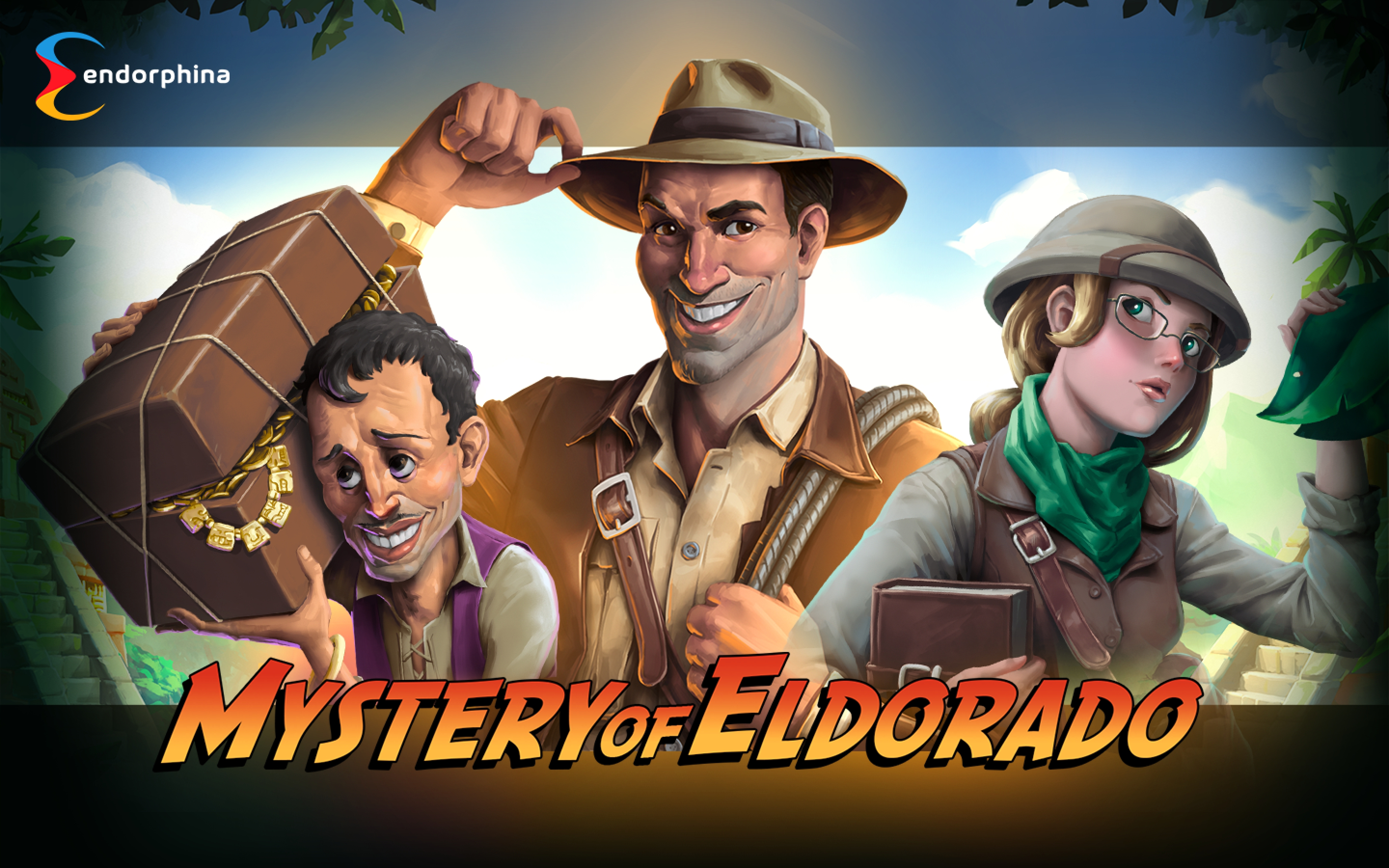 The Mystery of Eldorado Online Slot Demo Game by Endorphina