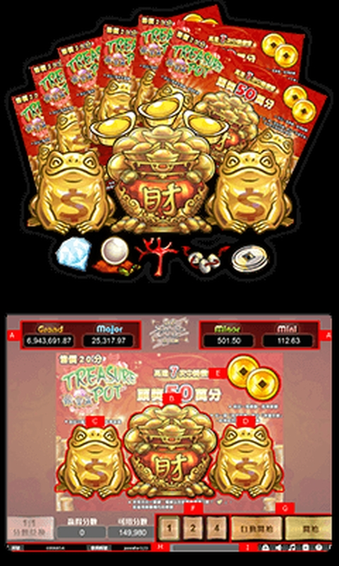 The Treasure Pot Online Slot Demo Game by esball