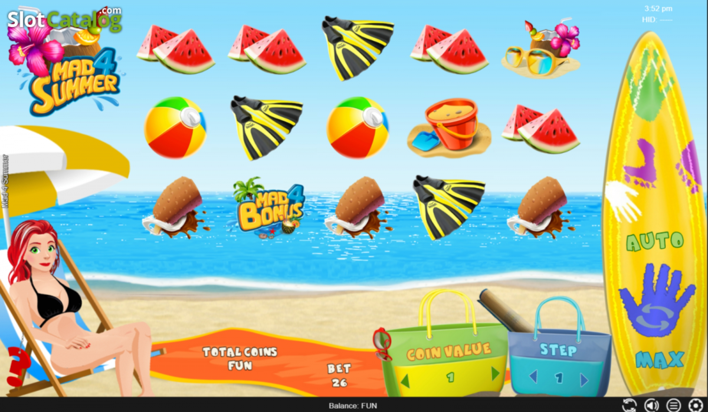 The Mad 4 Summer Online Slot Demo Game by Espresso Games