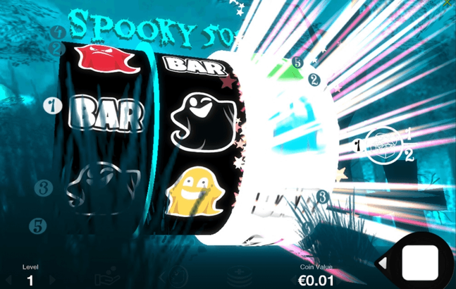 The Spooky 5000 Online Slot Demo Game by Fantasma Games