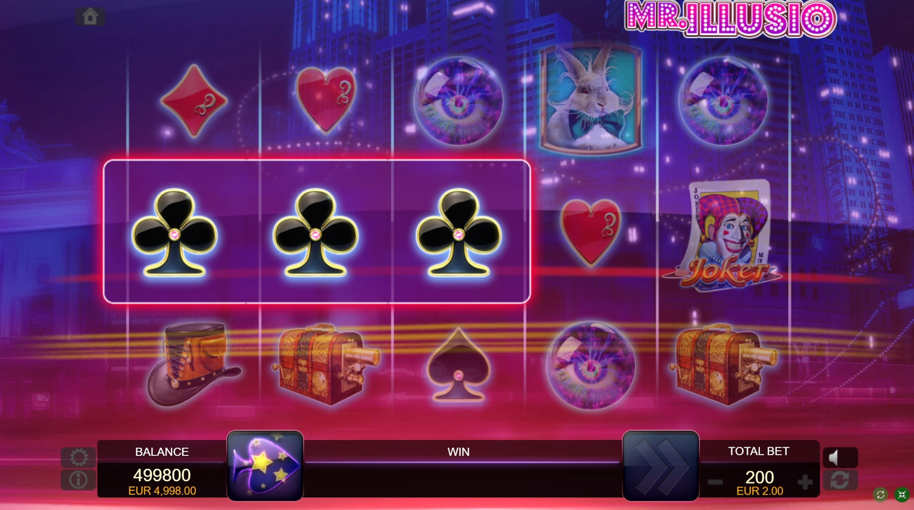 Win Money in Mr. Illusio Free Slot Game by FUGA Gaming