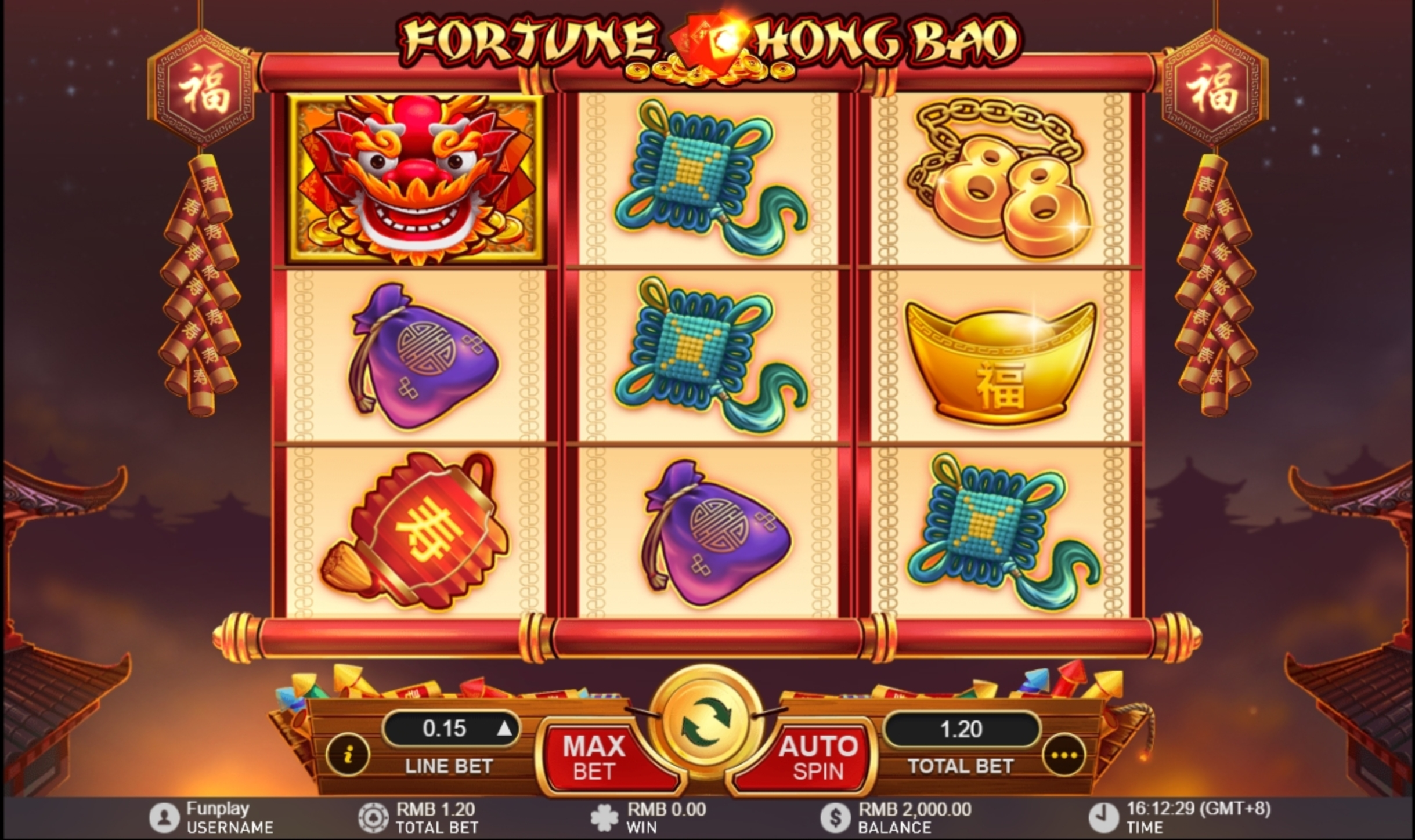 Reels in Fortune Hong Bao Slot Game by Gameplay Interactive