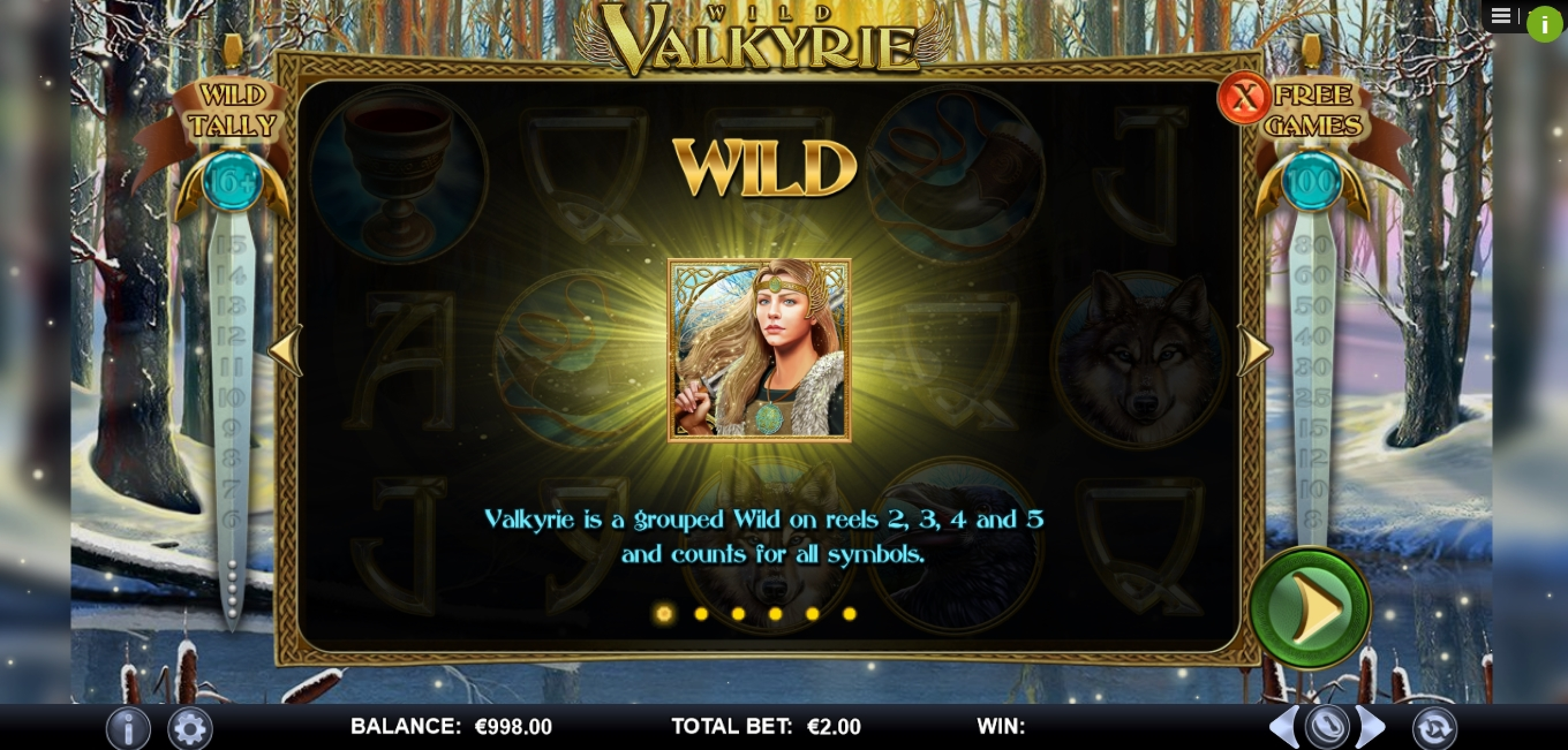 Info of Wild Valkyrie Slot Game by Games Lab