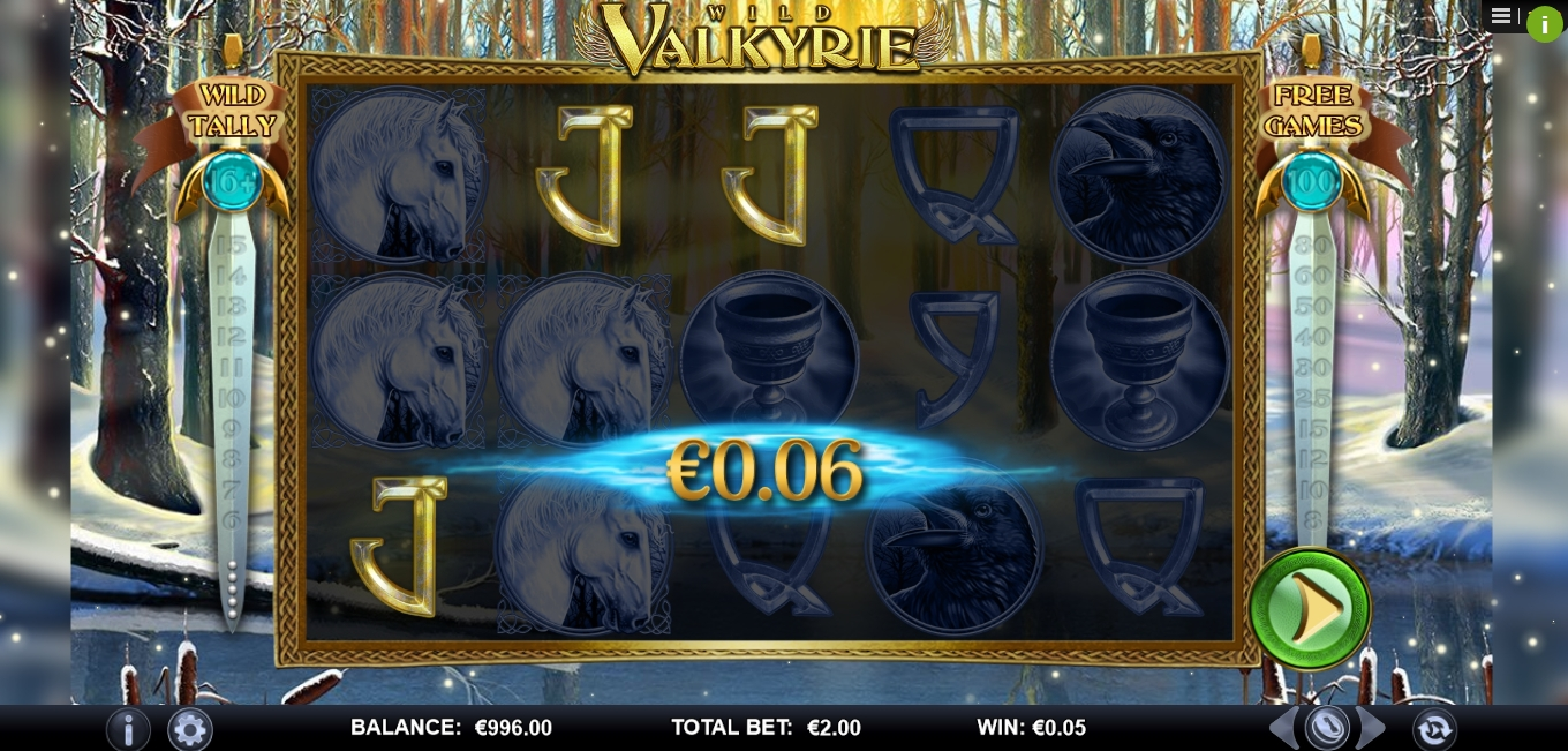 Win Money in Wild Valkyrie Free Slot Game by Games Lab