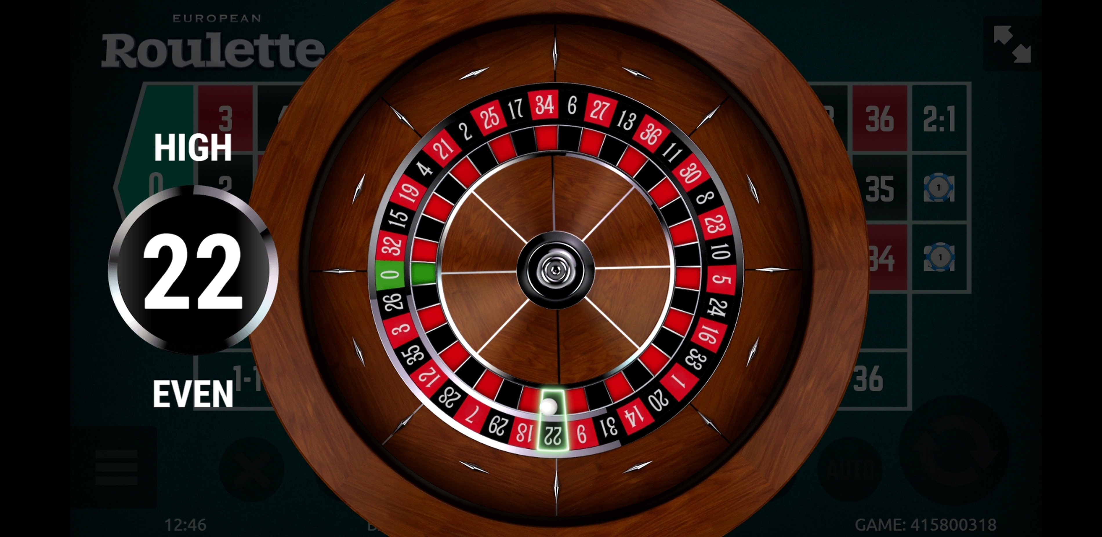 Win Money in European Roulette (gamevy) Free Slot Game by Gamevy