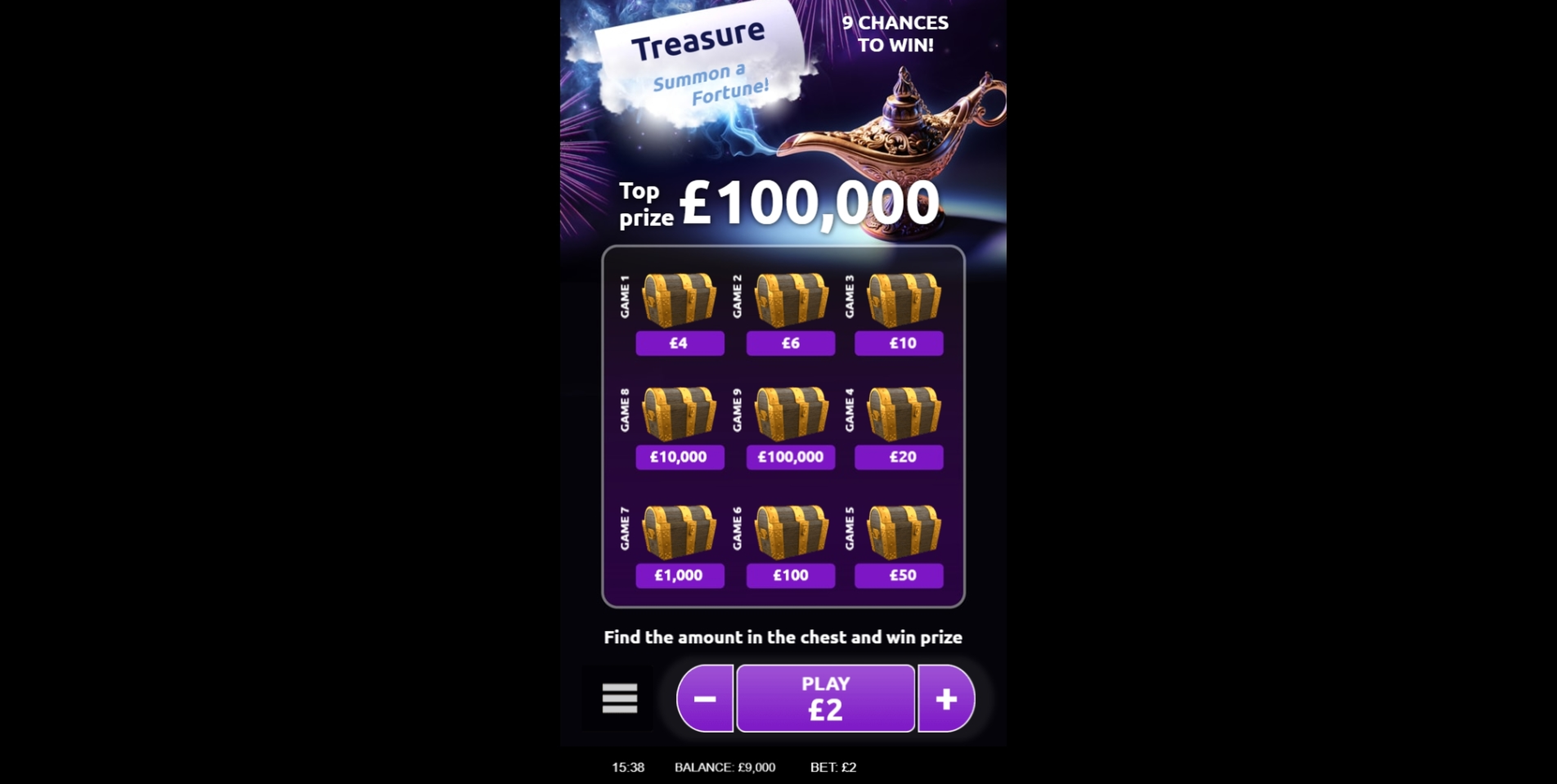 Reels in Fortune (gamevy) Slot Game by Gamevy