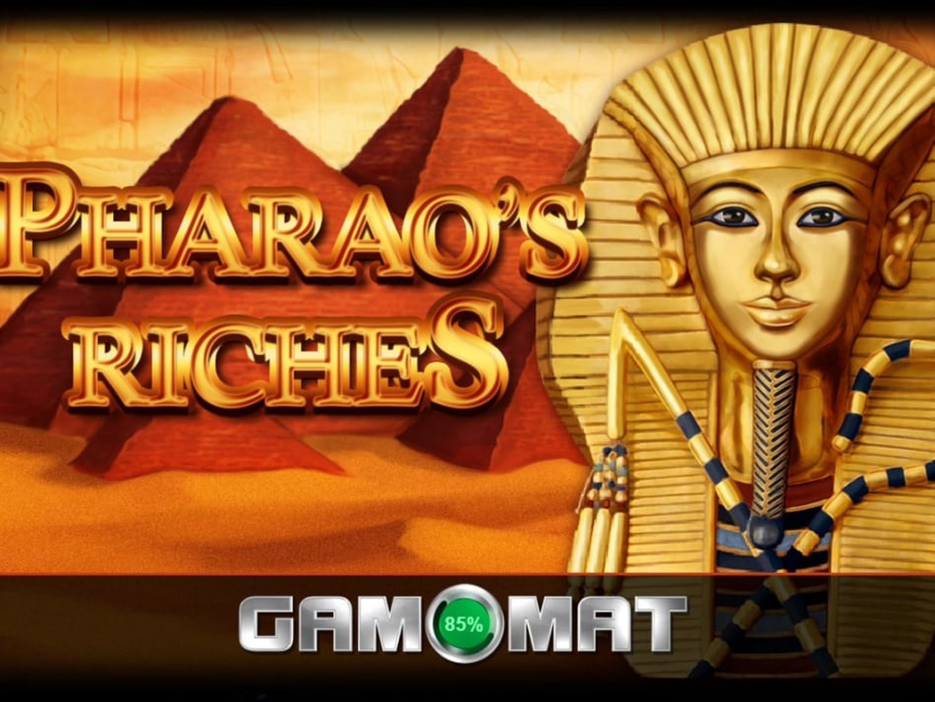 The Pharao's Riches Online Slot Demo Game by Gamomat