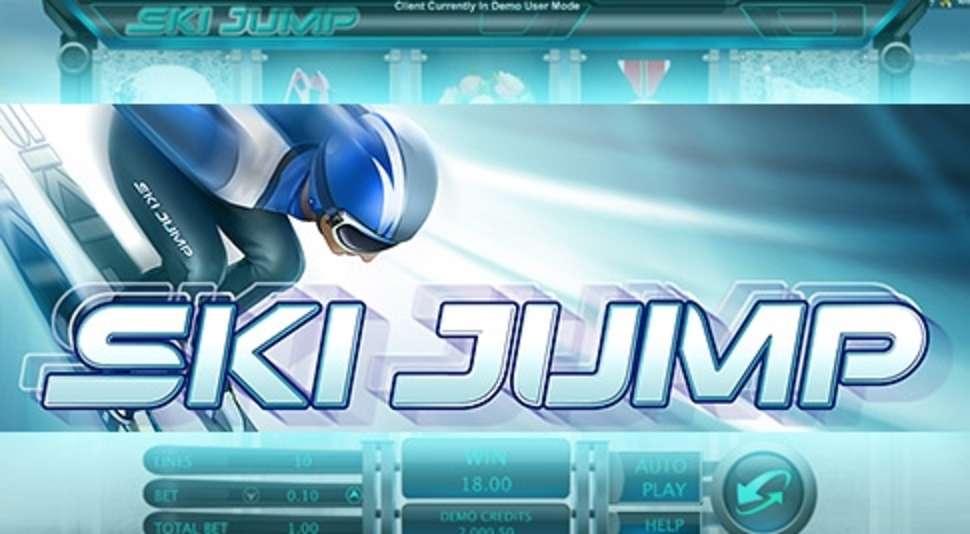 The Ski Jump Online Slot Demo Game by Genesis