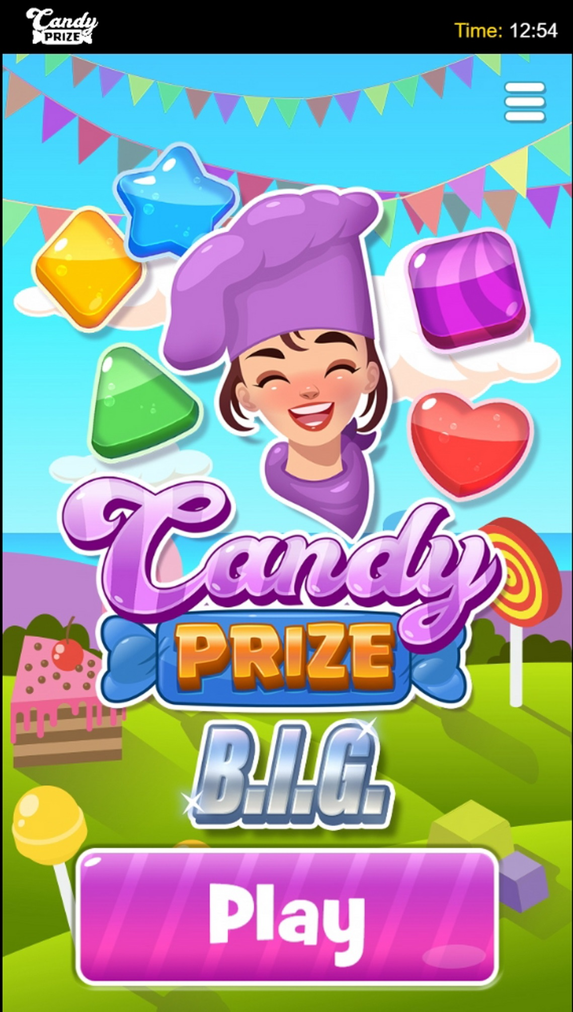 Play Candy Prize BIG Free Casino Slot Game by Green Jade Games