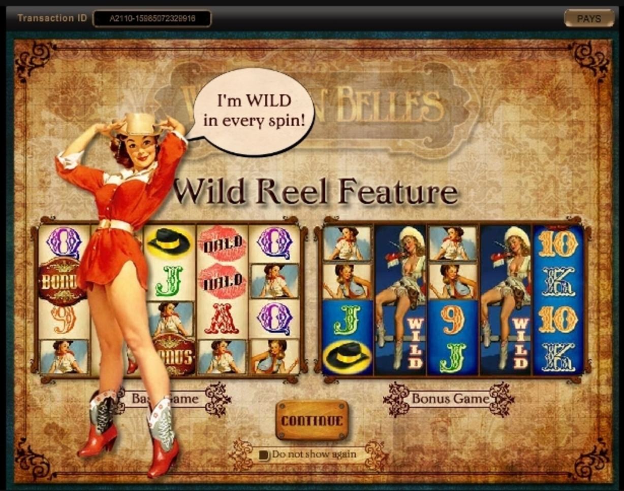 Play Western Belles Free Casino Slot Game by IGT