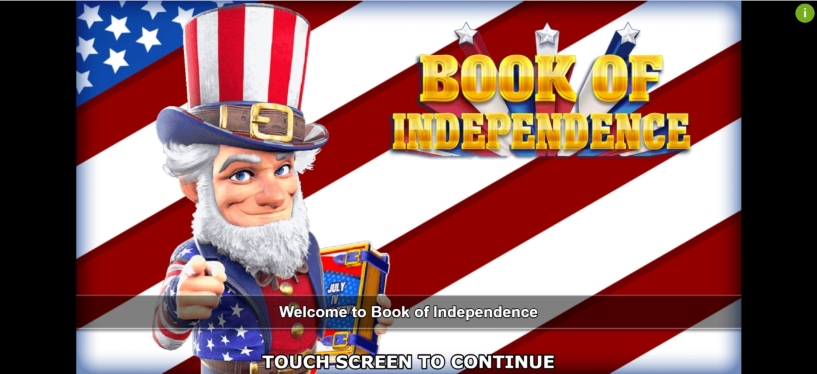Play Book of Independence Free Casino Slot Game by Inspired Gaming