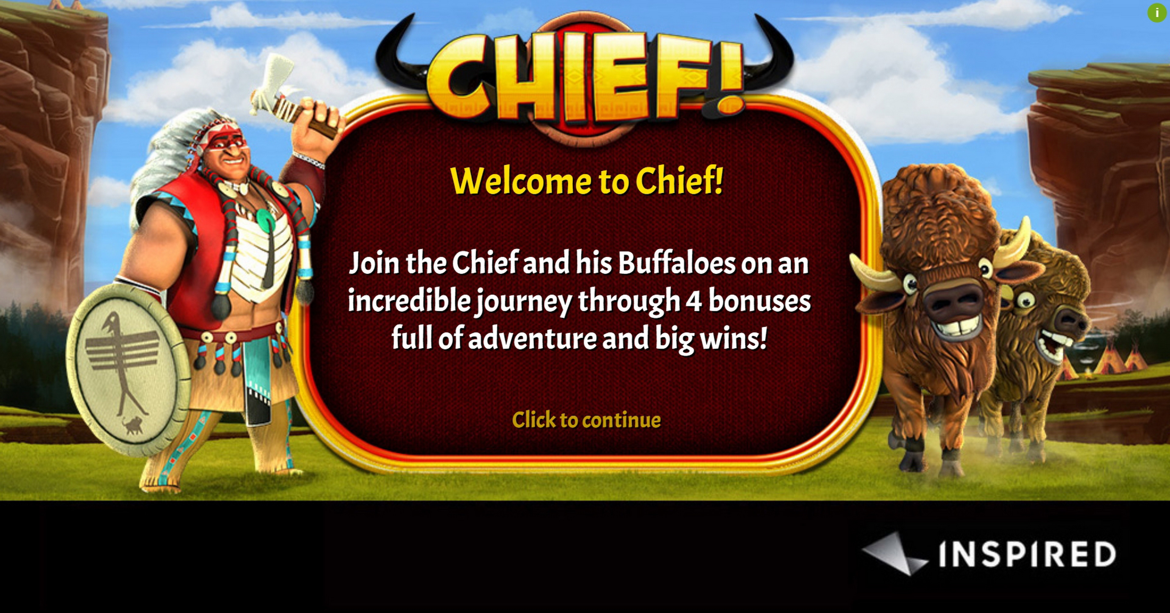 Play Chief! Free Casino Slot Game by Inspired Gaming