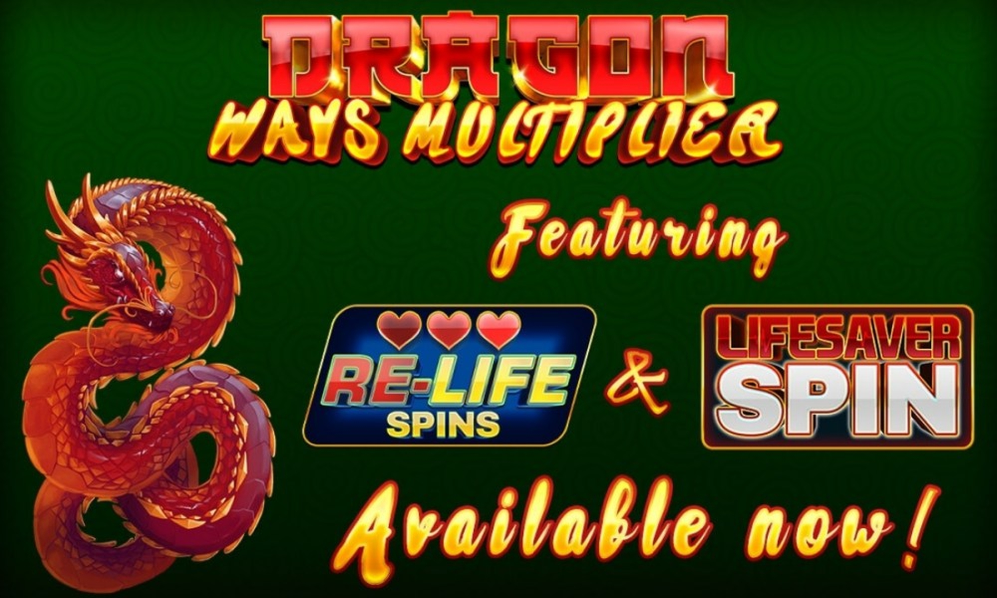 The Dragon Ways Multiplier Online Slot Demo Game by Inspired Gaming