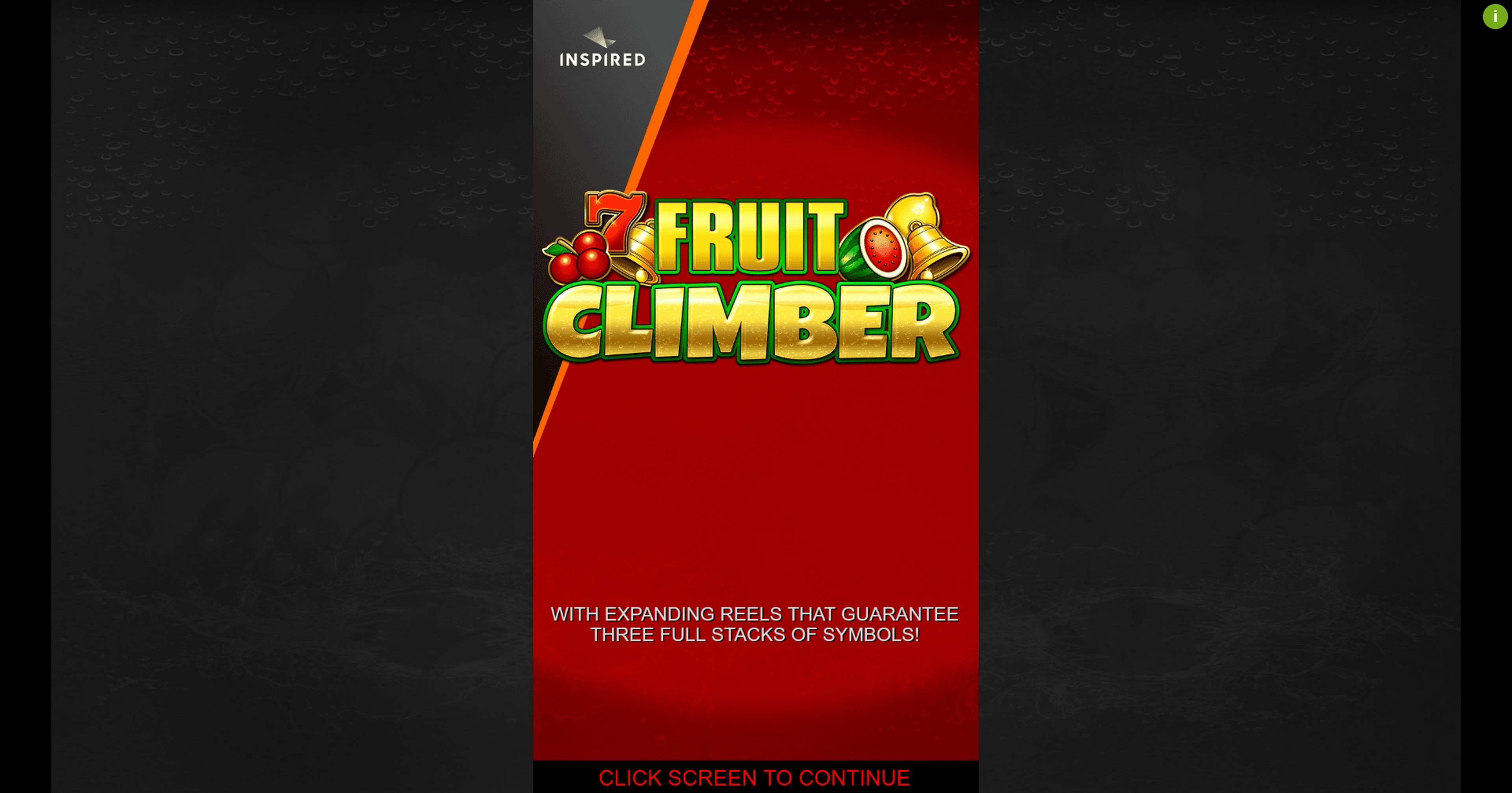 Play Fruit Climber Free Casino Slot Game by Inspired Gaming