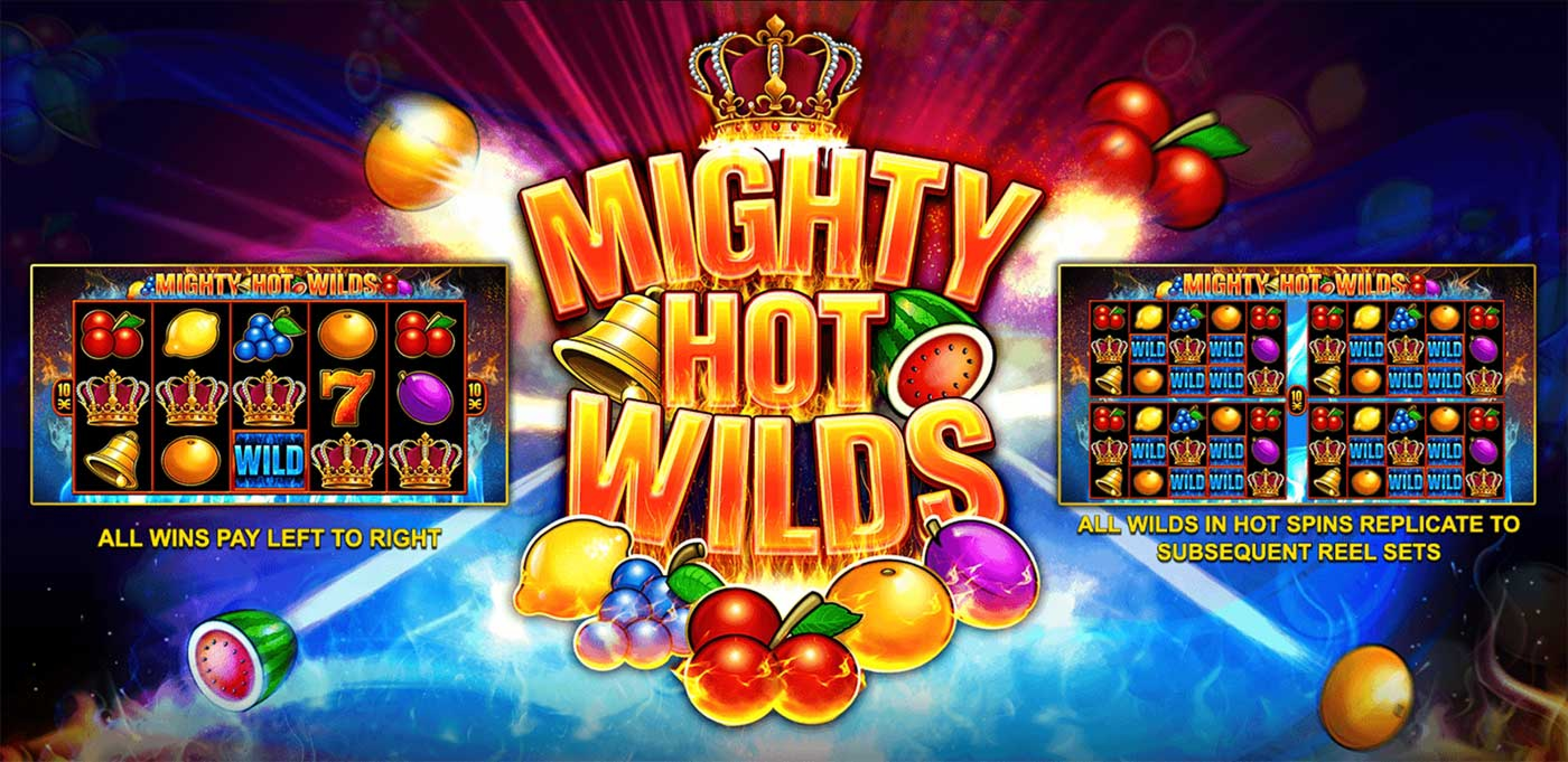 The Mighty Hot Wilds Online Slot Demo Game by Inspired Gaming